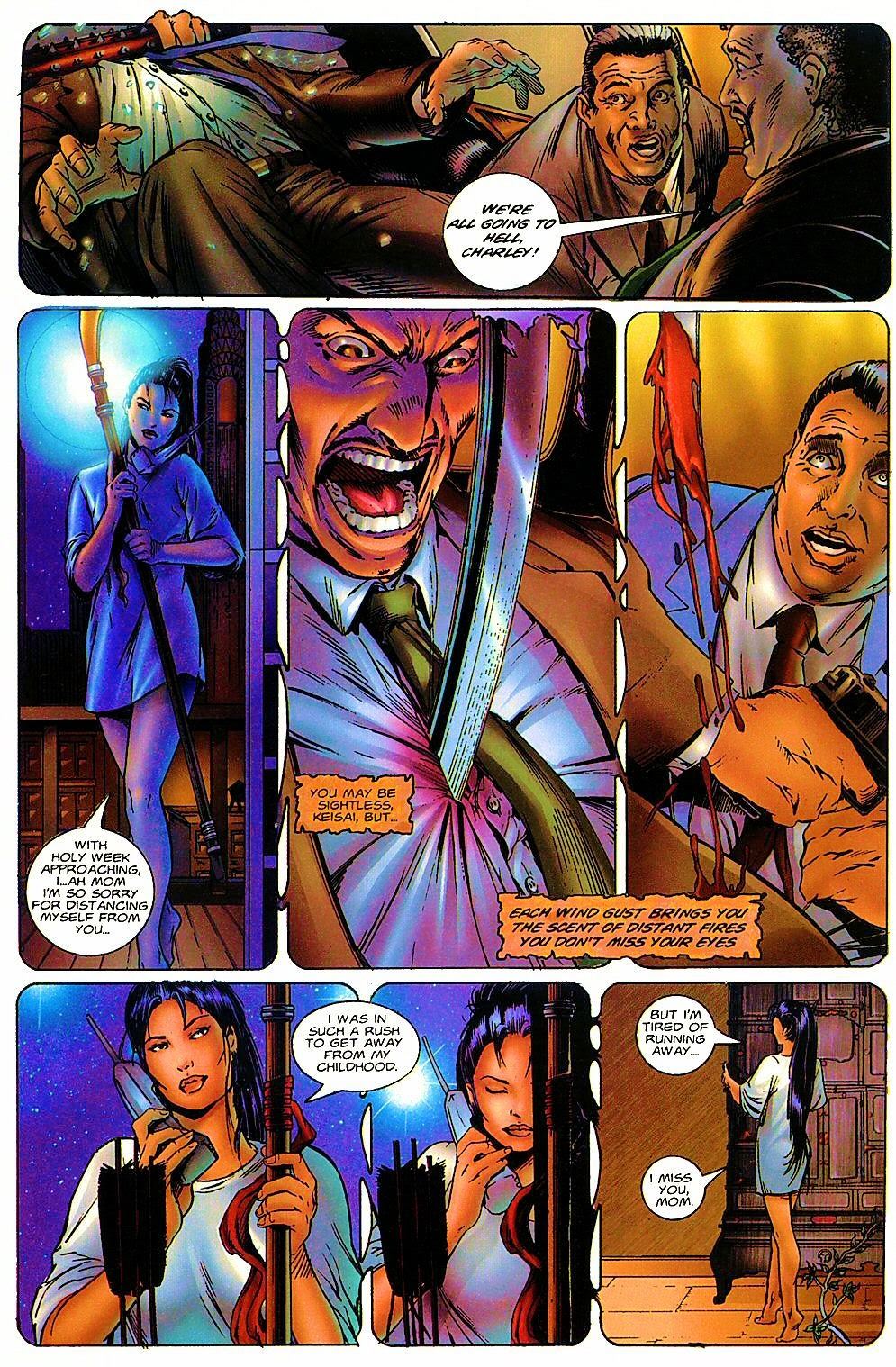 Read online Shi: The Way of the Warrior comic -  Issue #6 - 7