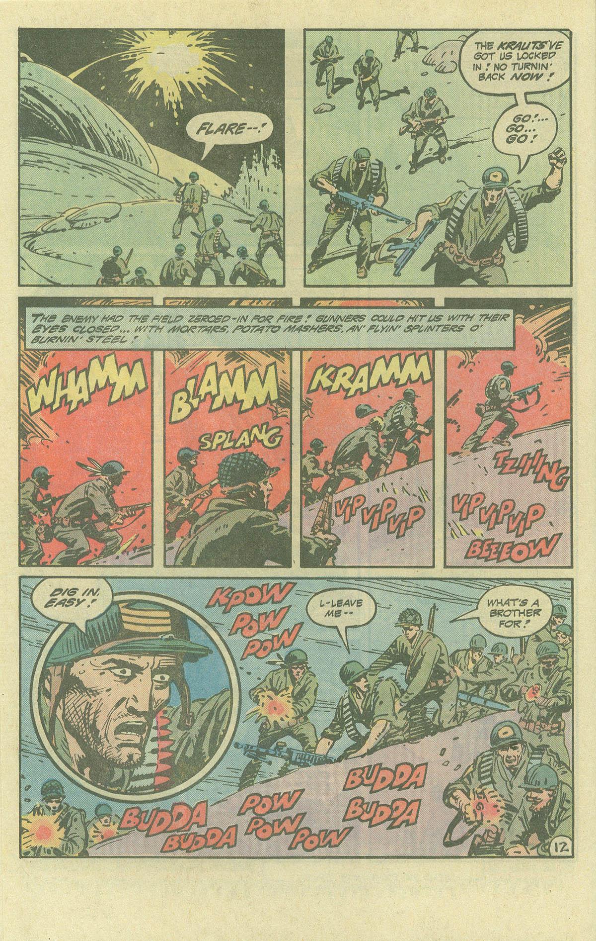 Read online Sgt. Rock comic -  Issue #393 - 12
