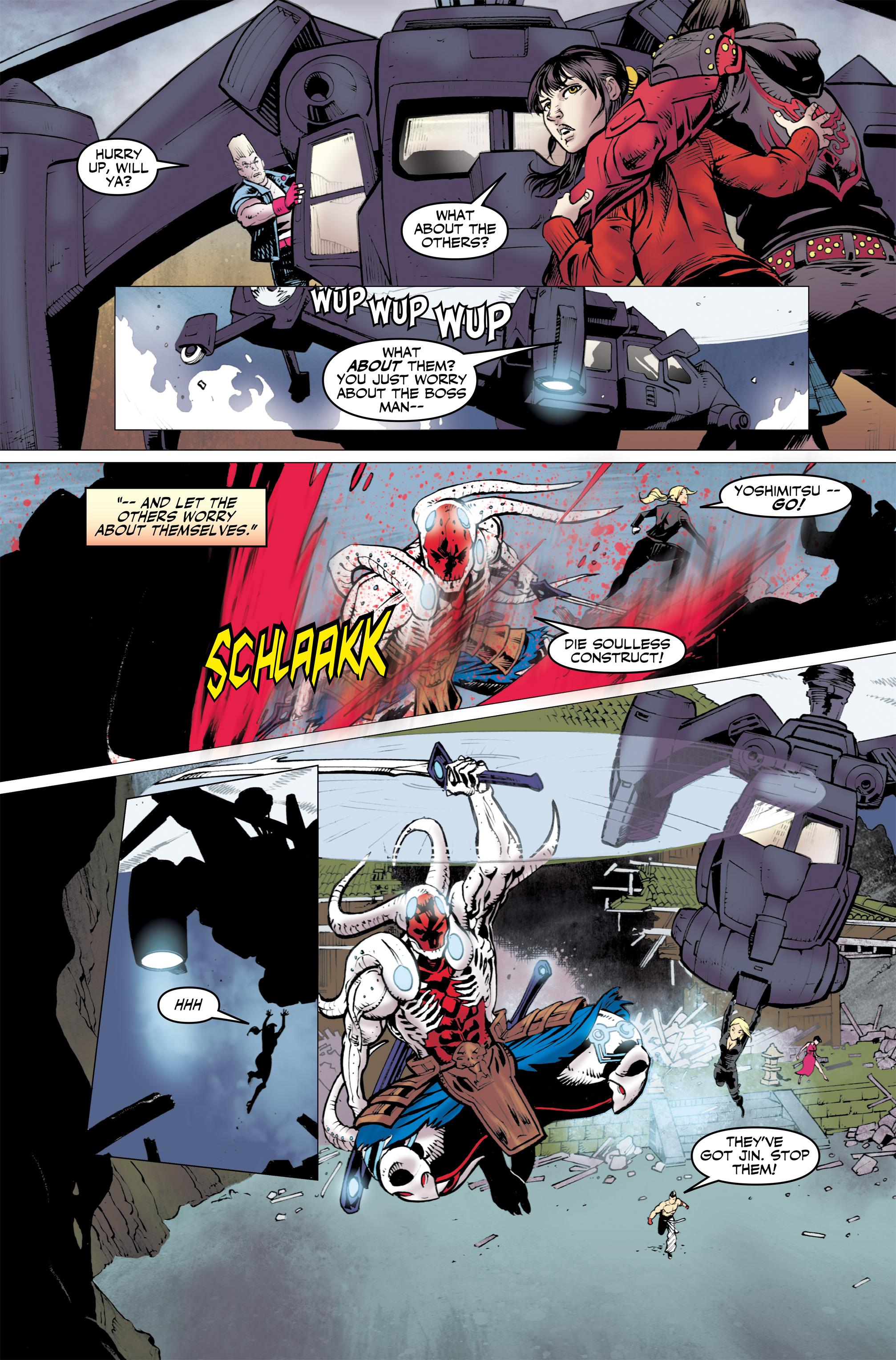 Read online Tekken comic -  Issue #2 - 16