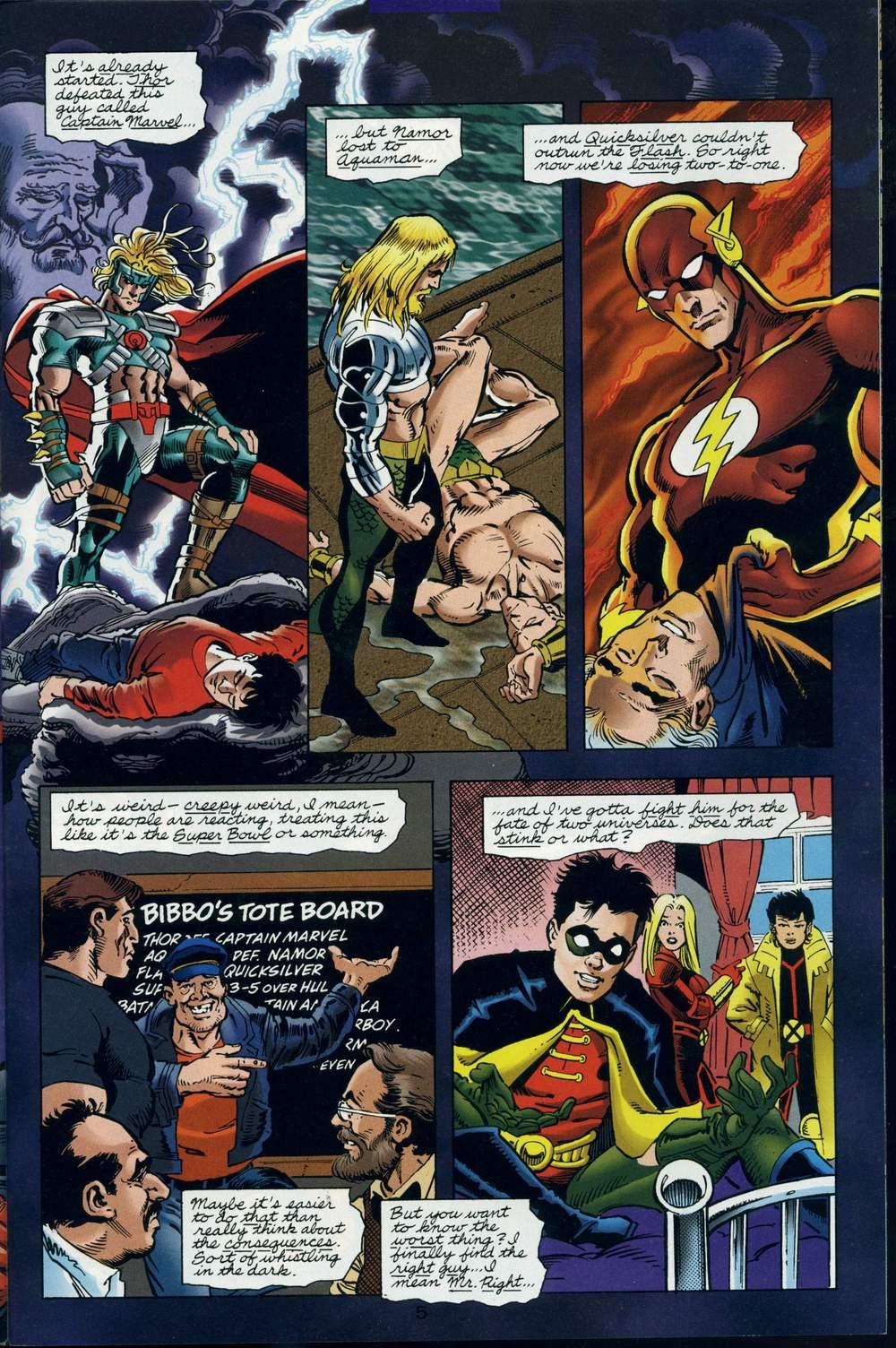 Read online DC Versus Marvel Comics comic -  Issue #3 - 6