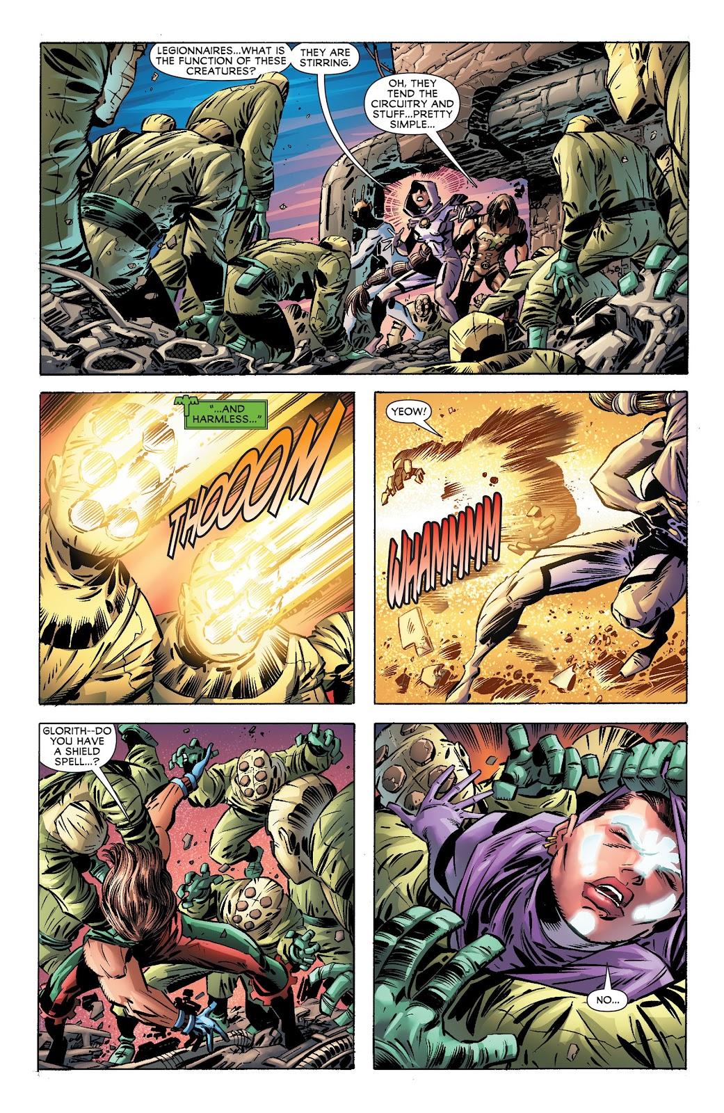 Legion of Super-Heroes (2011) Issue #17 #18 - English 13
