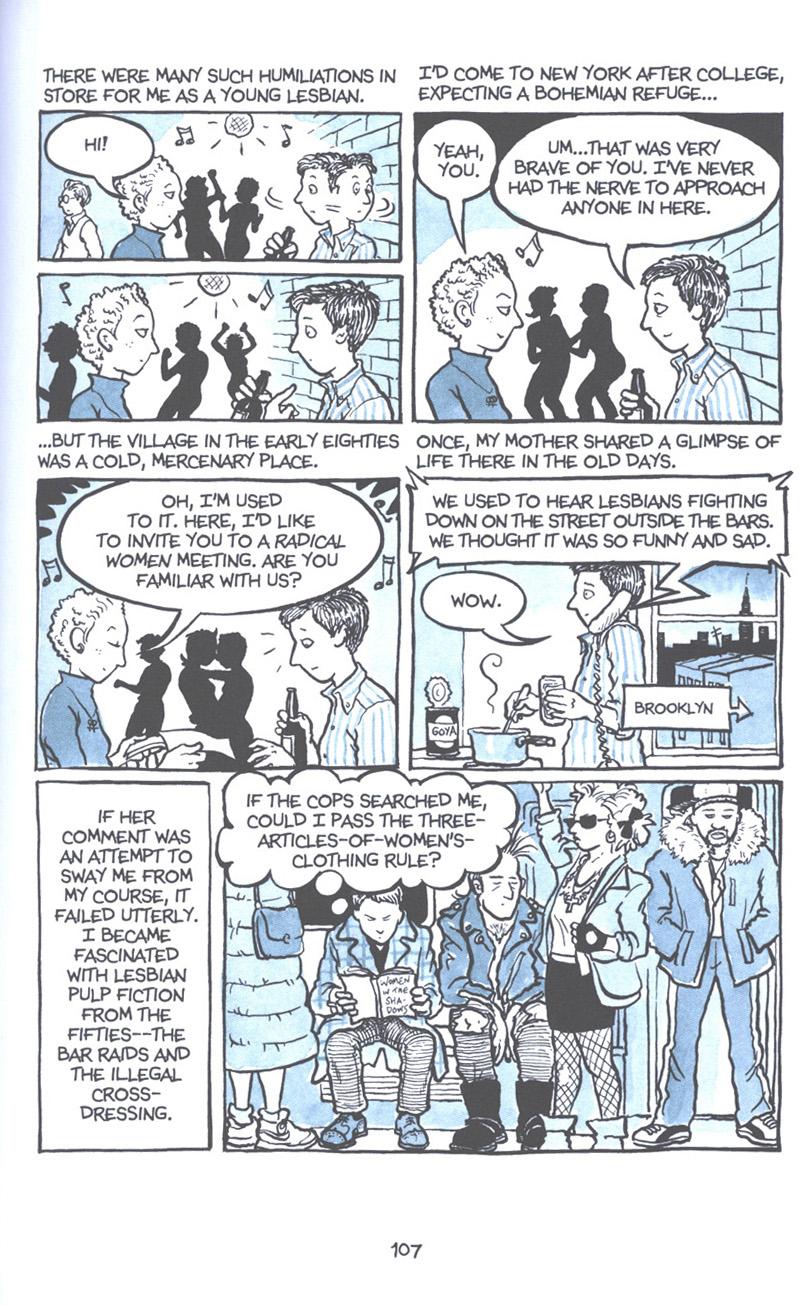 Read online Fun Home: A Family Tragicomic comic -  Issue # TPB - 113
