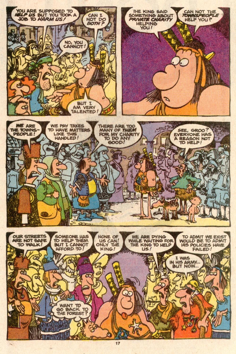 Read online Sergio Aragonés Groo the Wanderer comic -  Issue #60 - 17