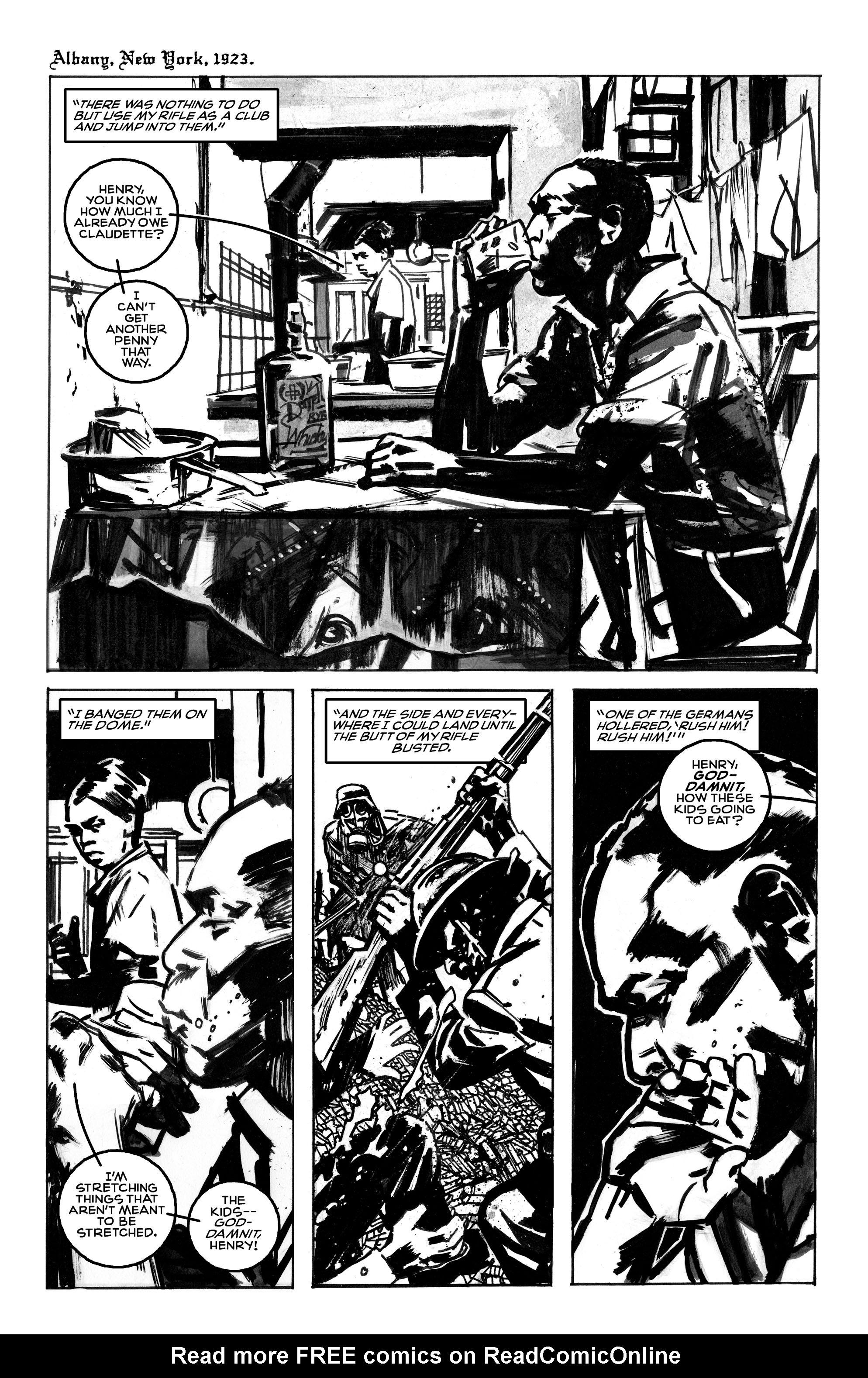 Read online Black Death in America comic -  Issue # Full - 6