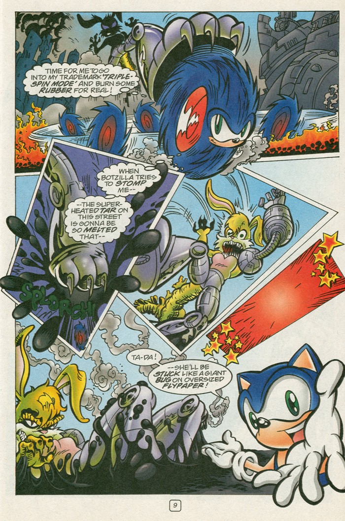 Read online Sonic Super Special comic -  Issue #12 - Sonic and Knuckles visa versa - 26