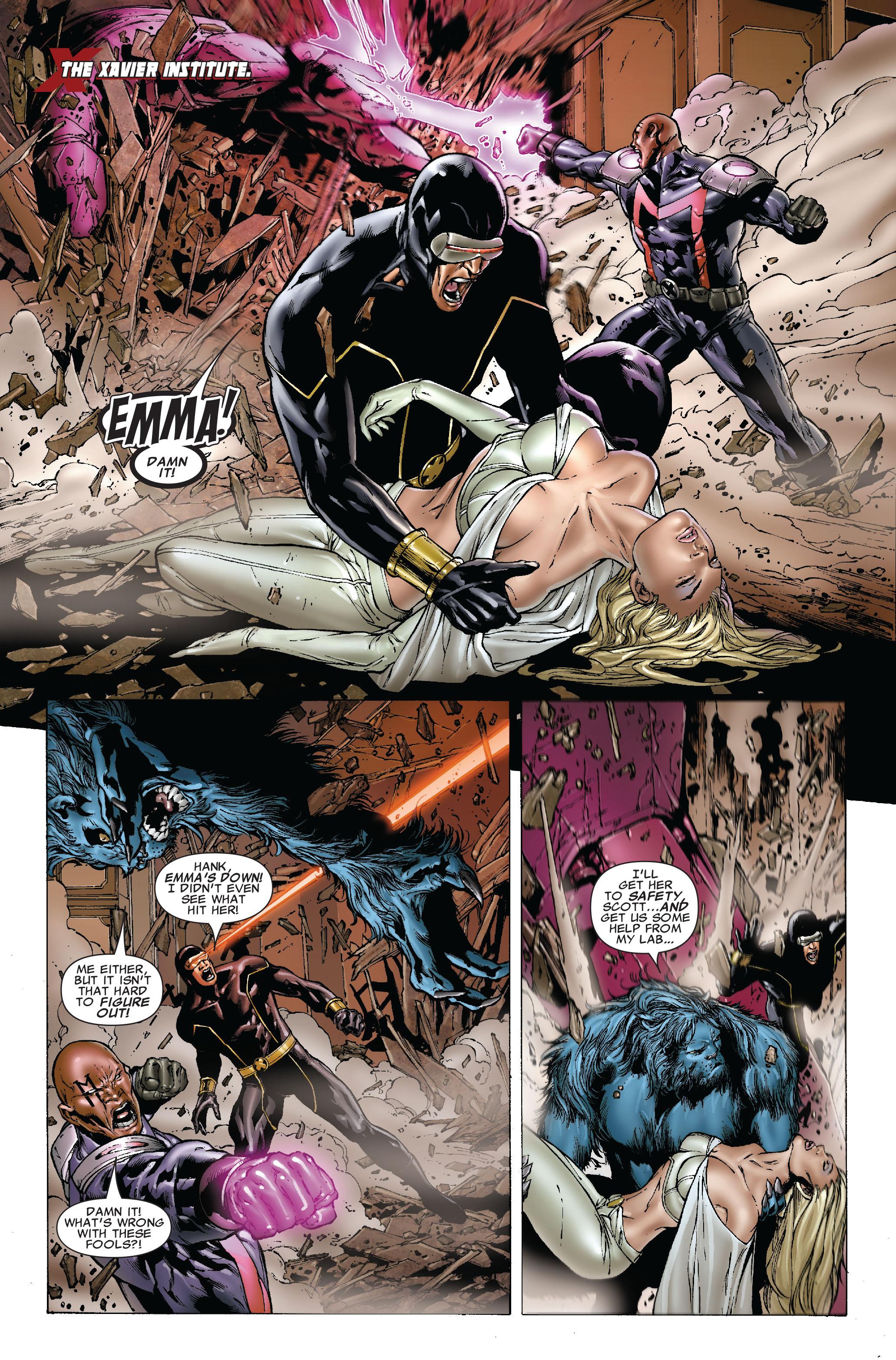 Read online Uncanny X-Men (1963) comic -  Issue #493 - 5