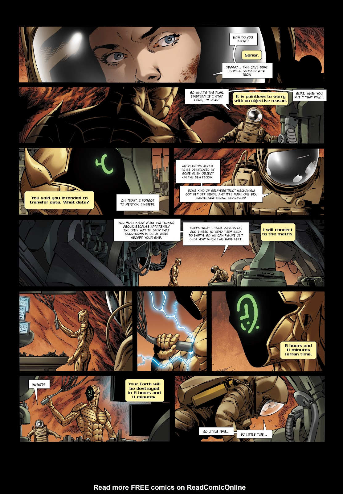 Read online Olympus Mons Vol. 1: Anomaly One comic -  Issue #5 - 16