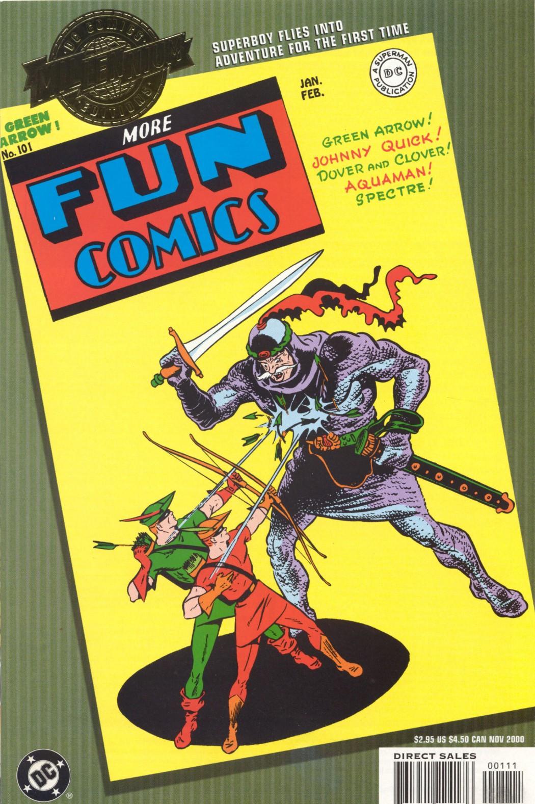 More Fun Comics 101 Page 1