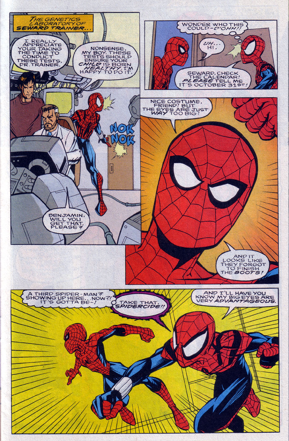 Read online 101 Ways to End the Clone Saga comic -  Issue #101 Ways to End the Clone Saga Full - 11
