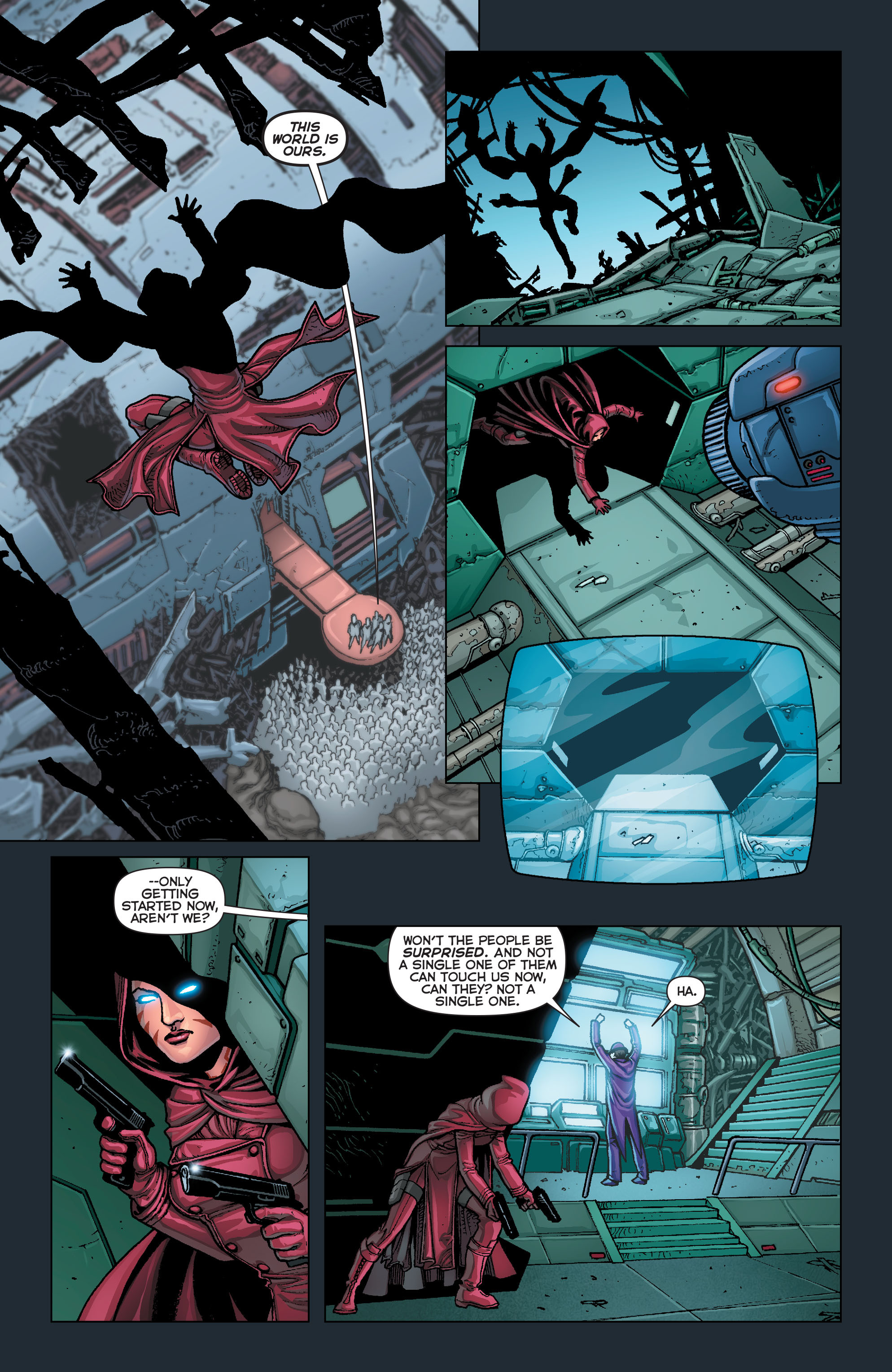 Read online Trinity of Sin: Pandora comic -  Issue #4 - 19