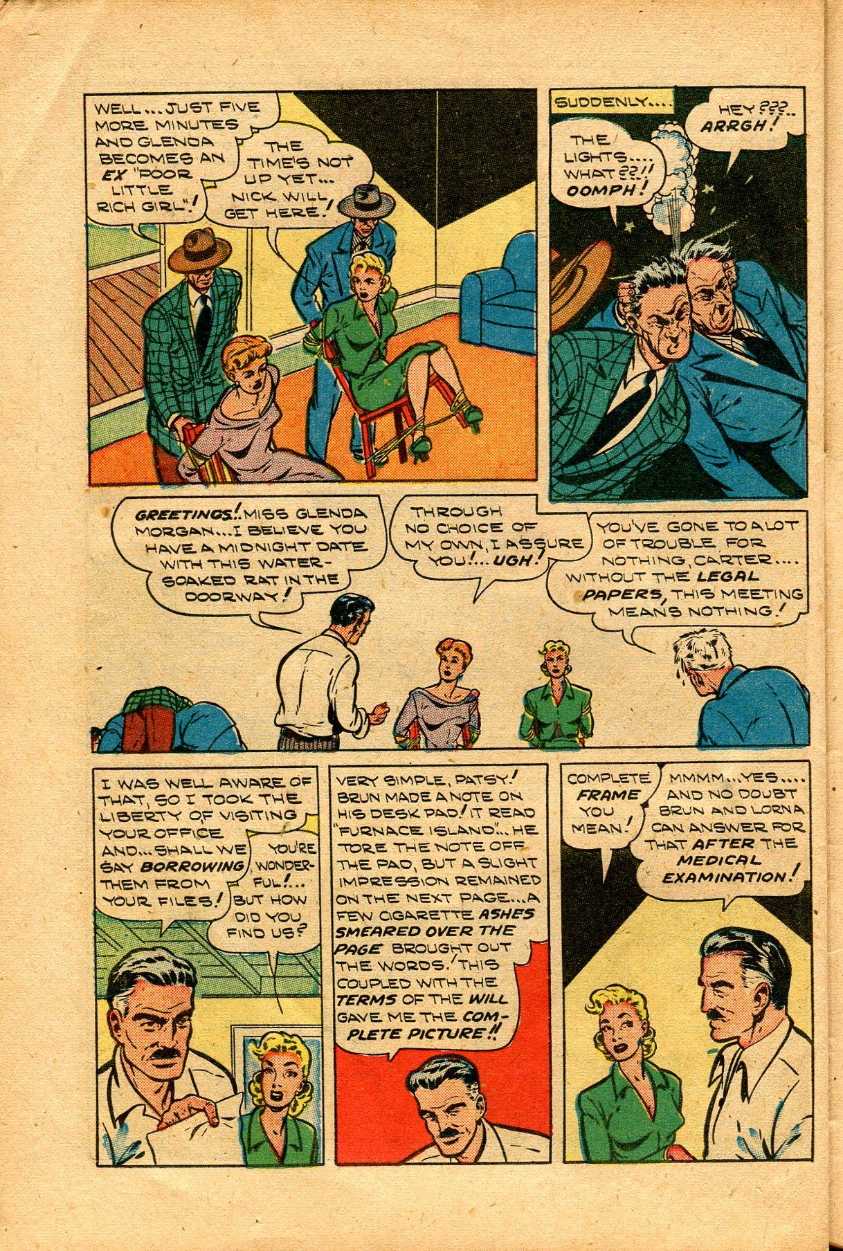 Read online Shadow Comics comic -  Issue #94 - 36