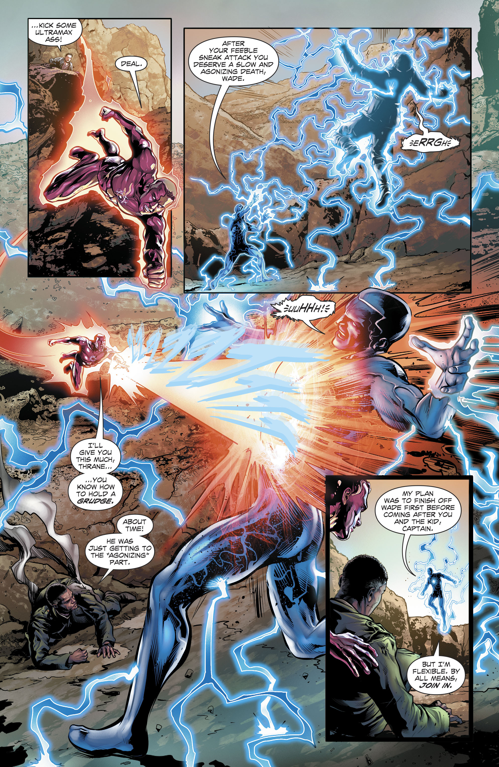Read online The Fall and Rise of Captain Atom comic -  Issue #6 - 14
