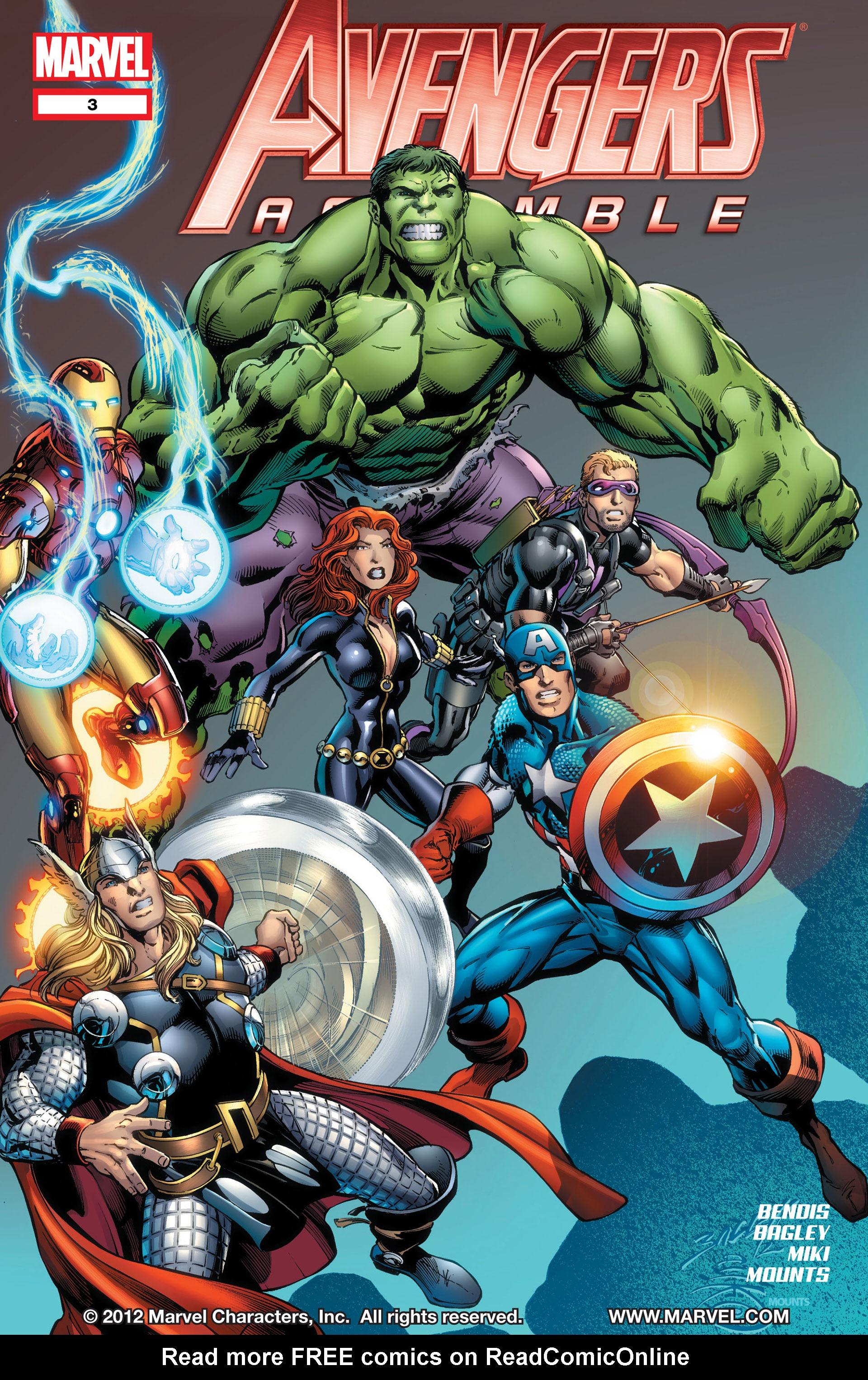 Avengers Assemble (2012) 3 Page 1