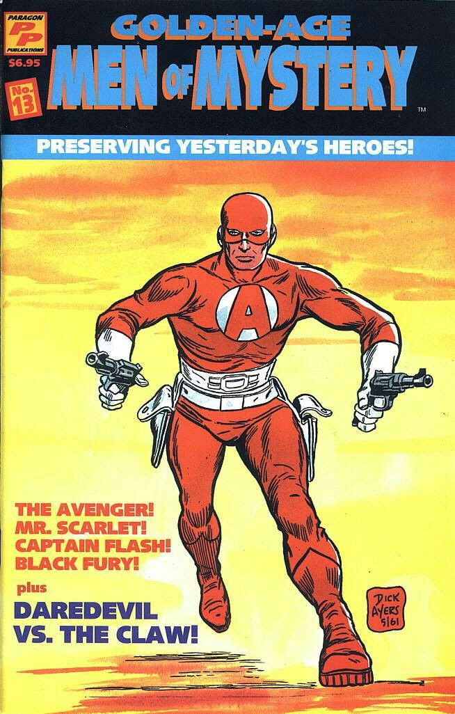 Read online Golden-Age Men of Mystery comic -  Issue #13 - 1