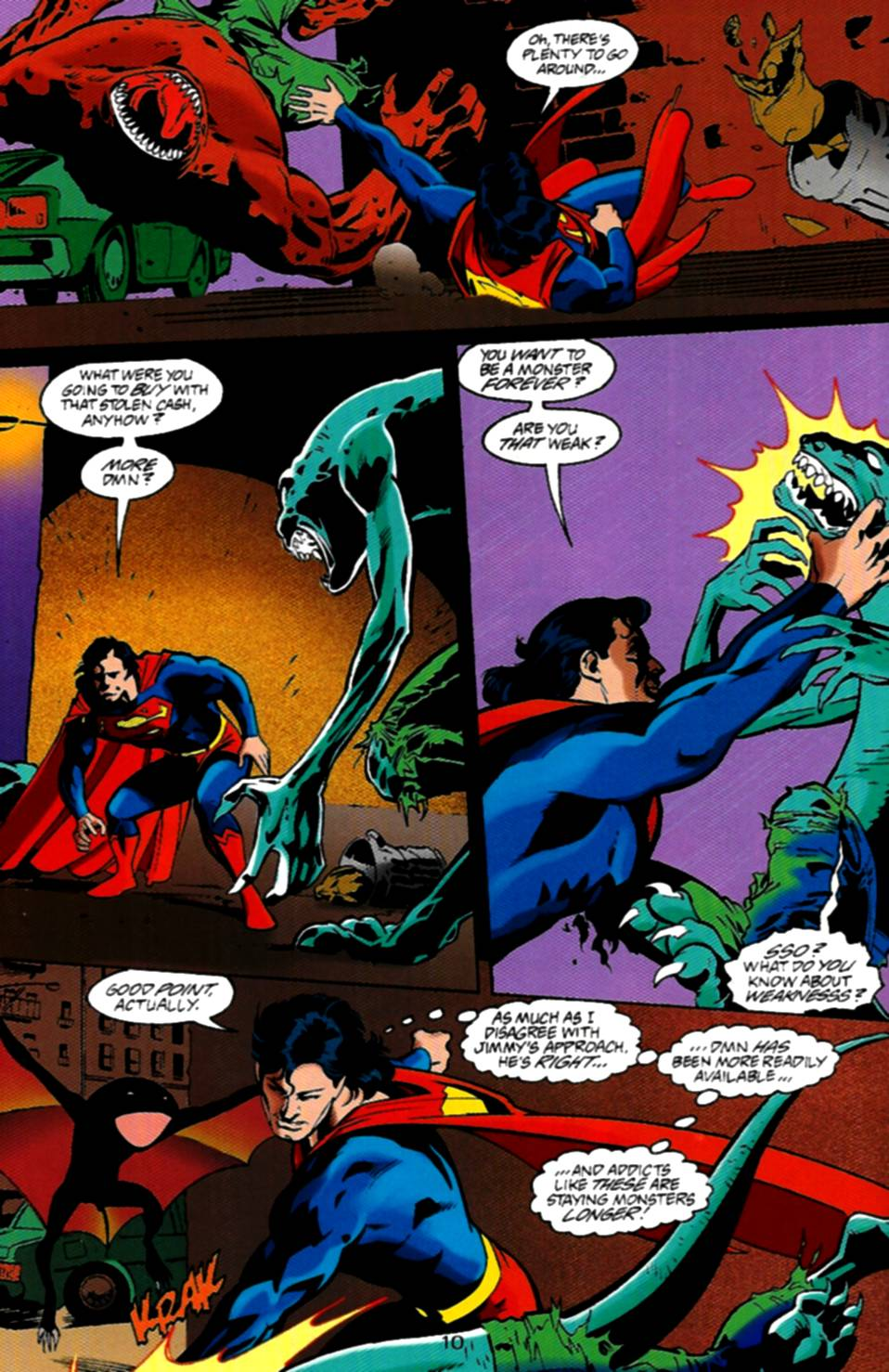 Read online Adventures of Superman (1987) comic -  Issue #534 - 11