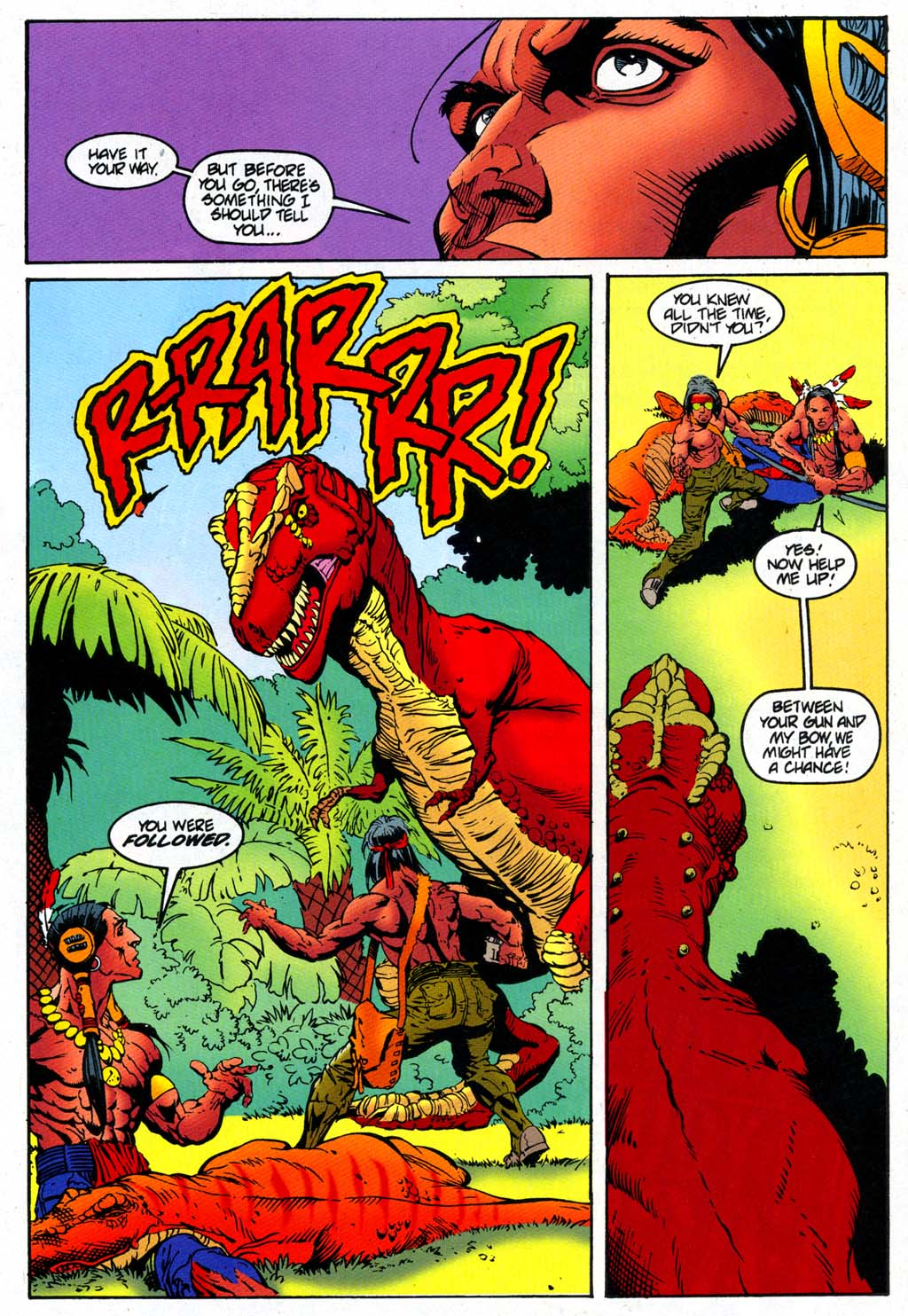 Read online Turok, Dinosaur Hunter (1993) comic -  Issue #47 - 16
