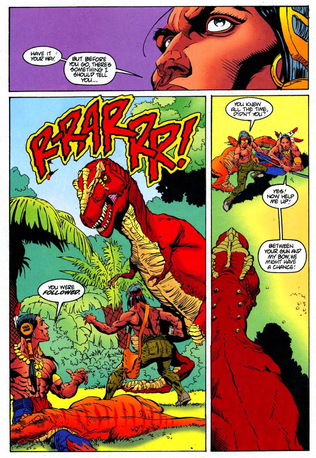 Read online Turok, Dinosaur Hunter (1993) comic -  Issue #47 - 16