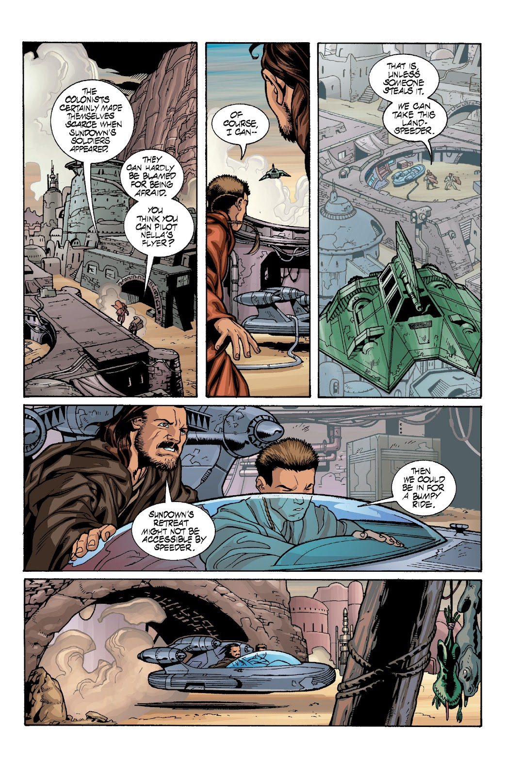 Read online Star Wars Legends: Rise of the Sith - Epic Collection comic -  Issue # TPB 1 (Part 4) - 16