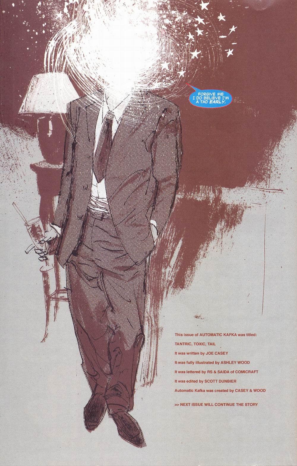 Read online Automatic Kafka comic -  Issue #6 - 23