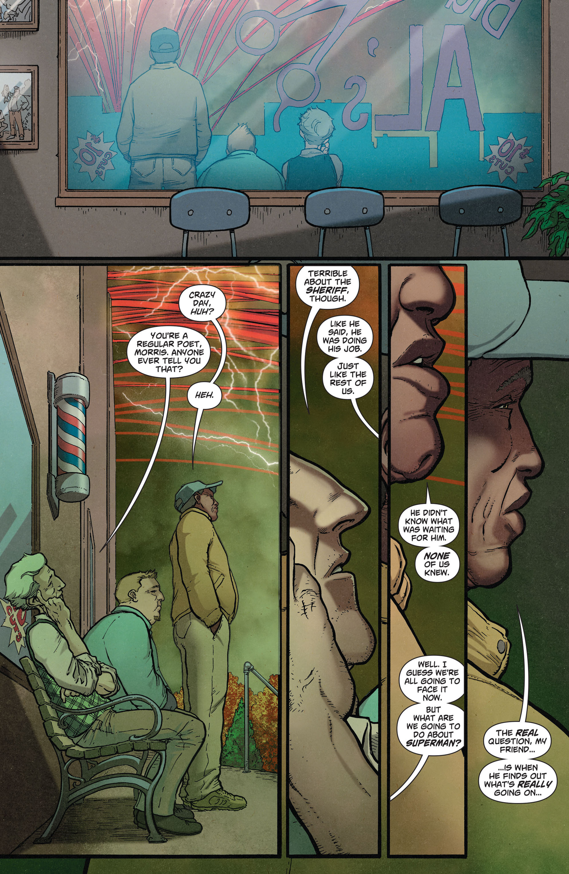 Read online Action Comics (2011) comic -  Issue #36 - 22