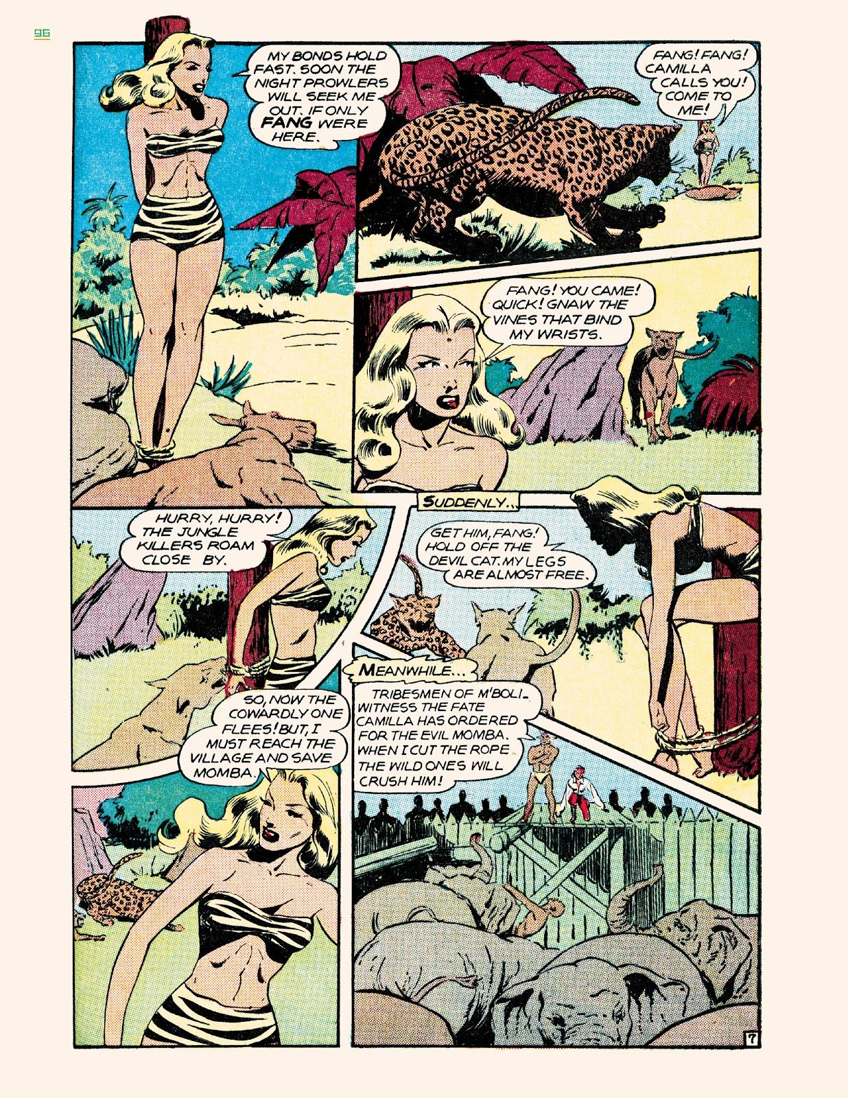 Read online Jungle Girls comic -  Issue # TPB (Part 1) - 96