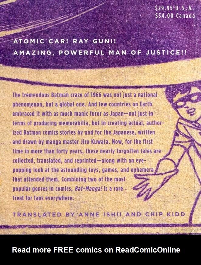 Bat-Manga!: The Secret History of Batman in Japan TPB_(Part_1) Page 1