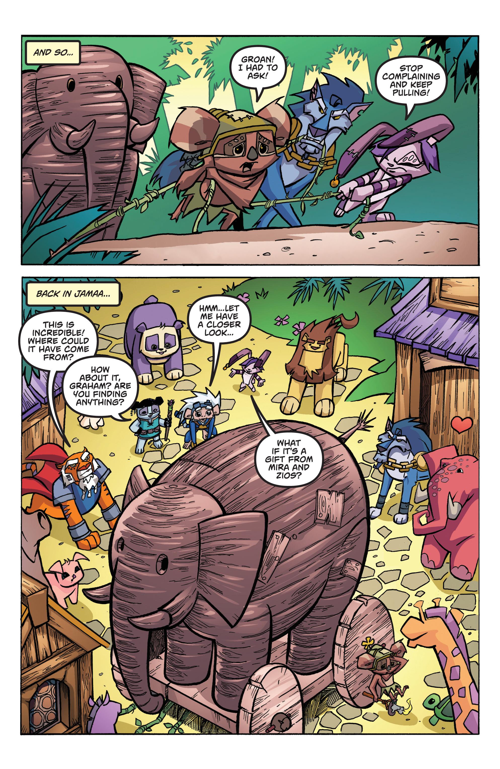 Read online Animal Jam comic -  Issue #1 - 9