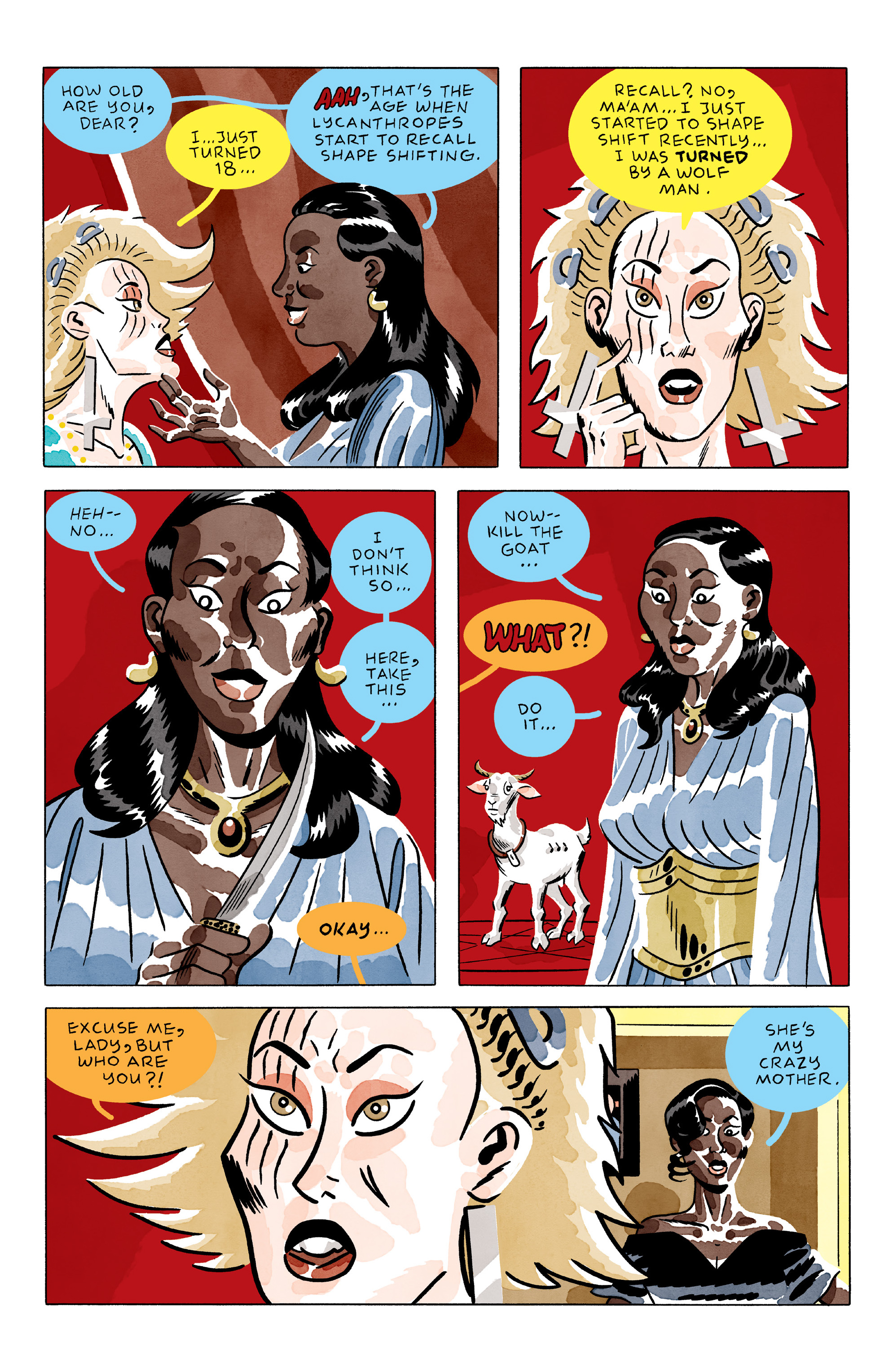Read online She Wolf comic -  Issue #2 - 18