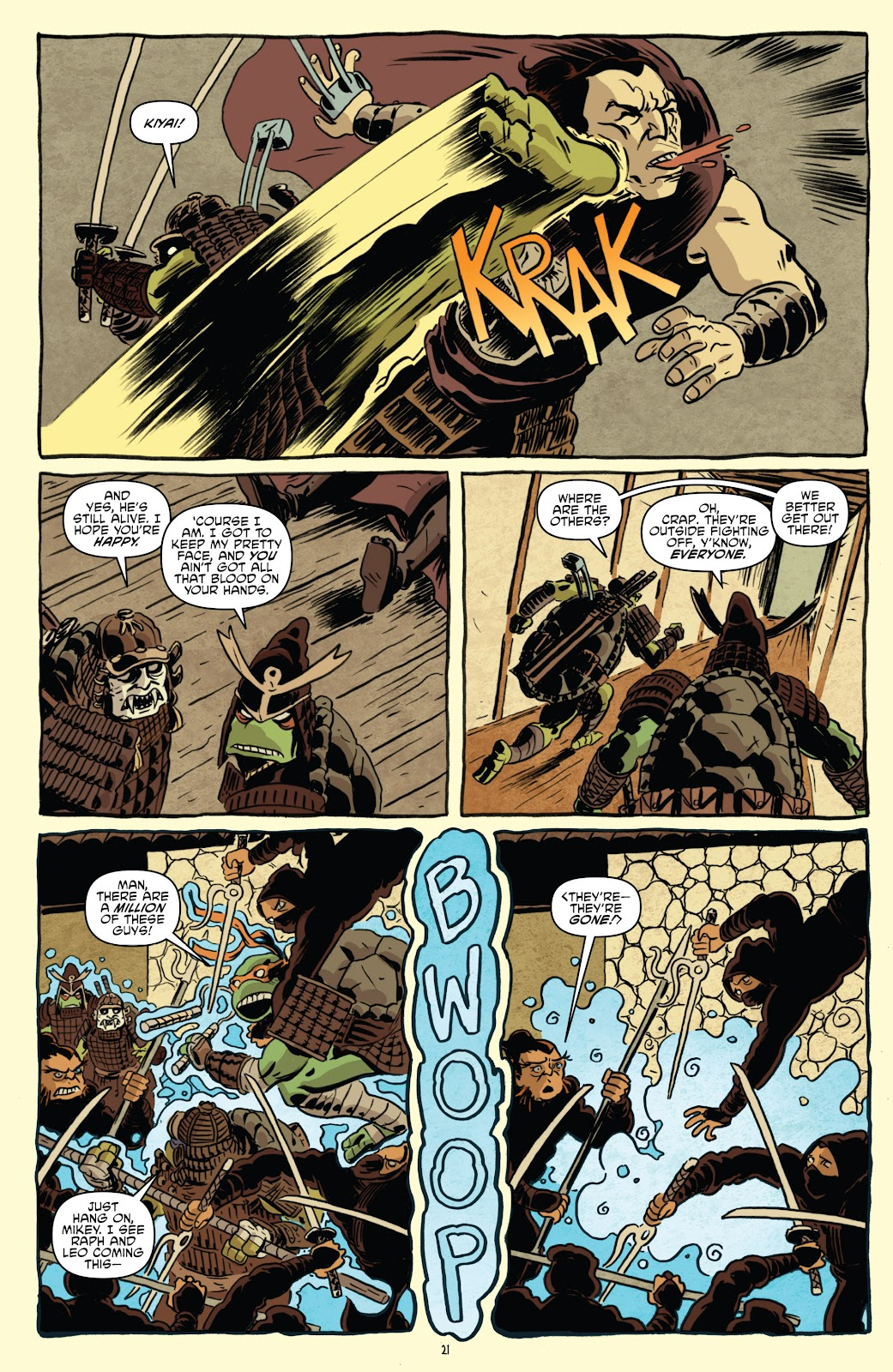 Read online Teenage Mutant Ninja Turtles: The IDW Collection comic -  Issue # TPB 5 (Part 1) - 51