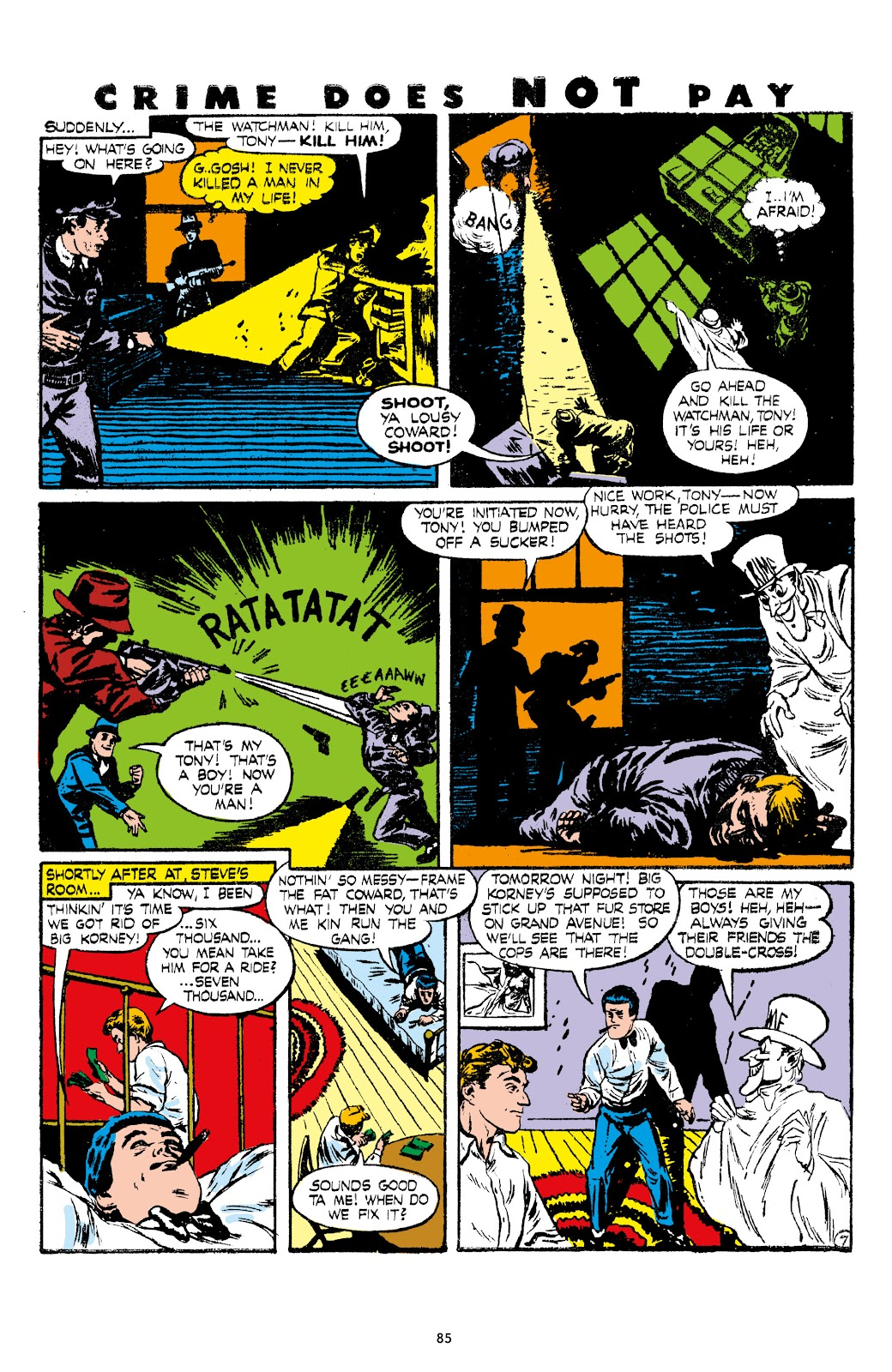 Read online Crime Does Not Pay Archives comic -  Issue # TPB 7 (Part 1) - 87