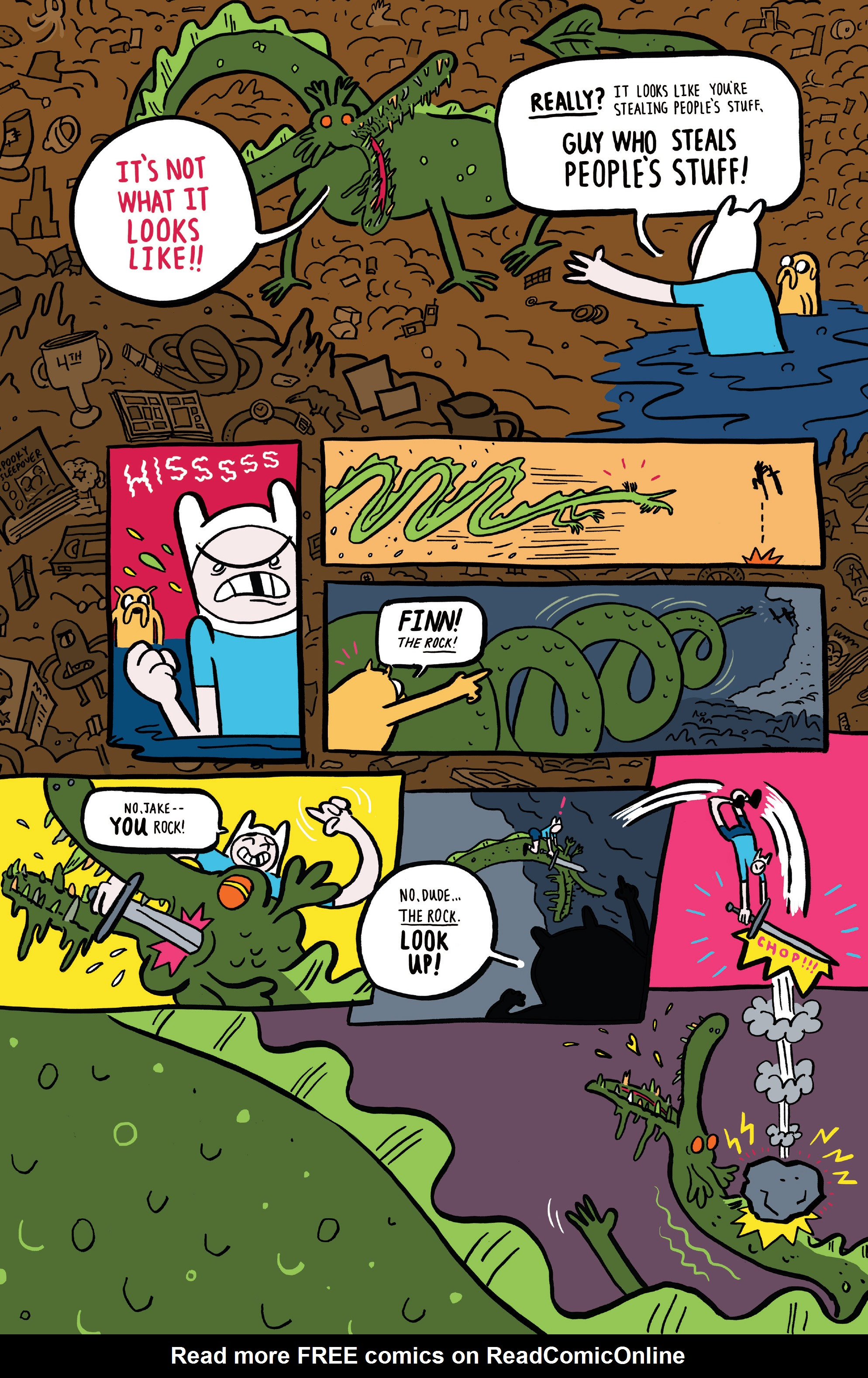 Read online Adventure Time comic -  Issue #45 - 31