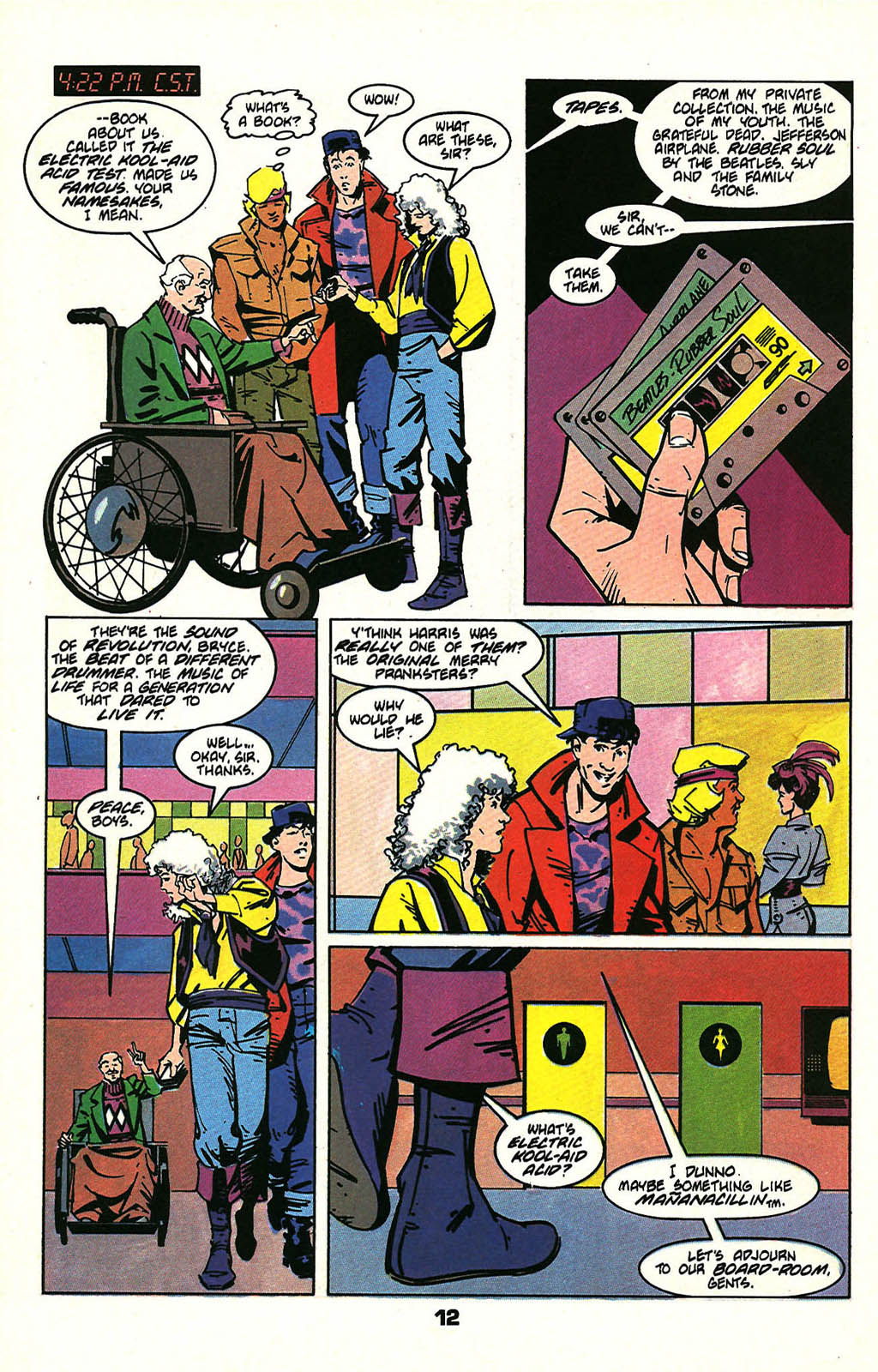 Read online American Flagg! comic -  Issue #47 - 16
