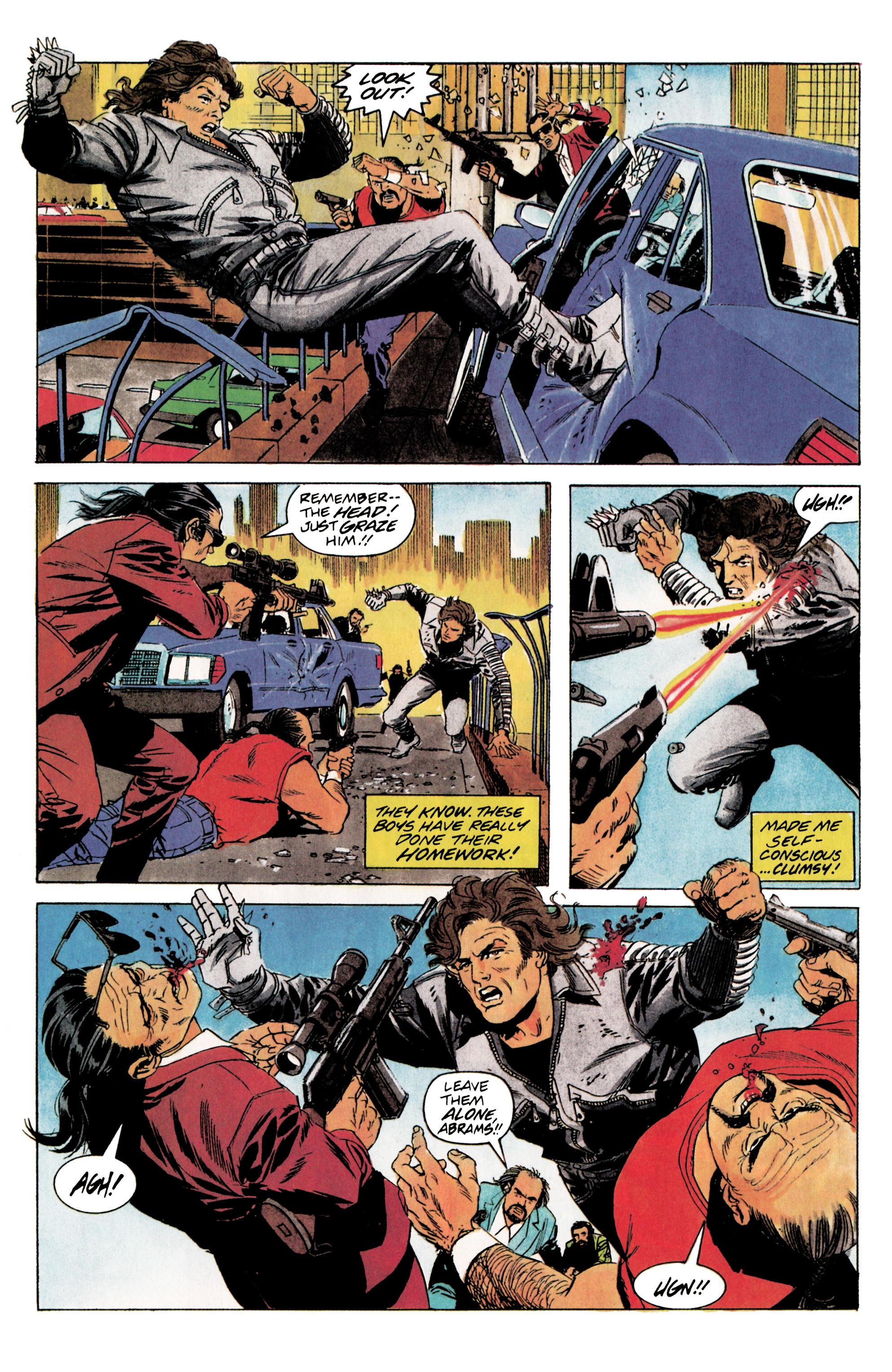 Read online Eternal Warrior (1992) comic -  Issue #5 - 13