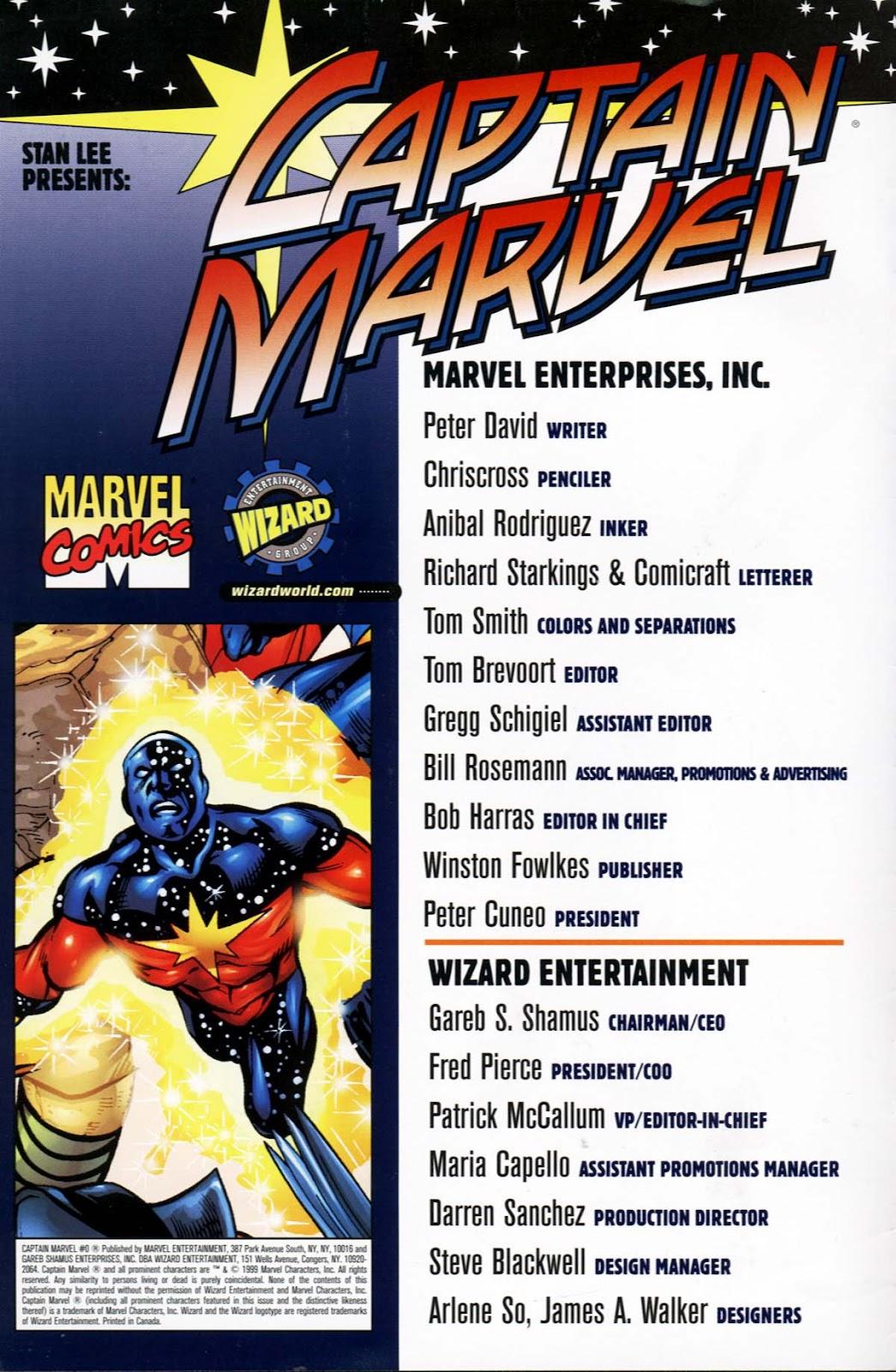 Captain Marvel (1999) Issue #0 #1 - English 2