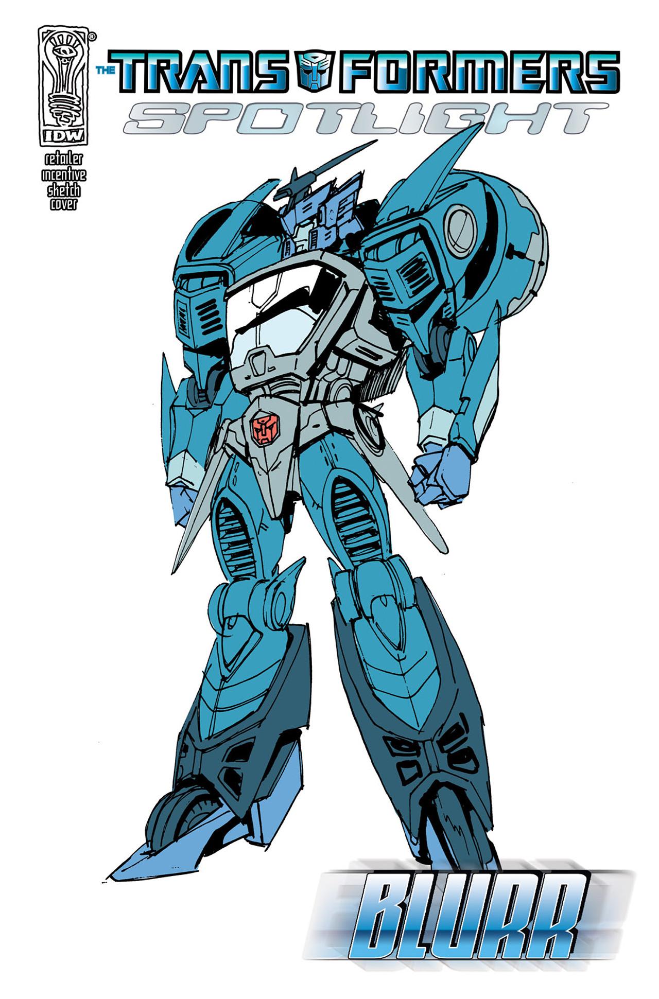 Read online Transformers Spotlight: Blurr comic -  Issue # Full - 3