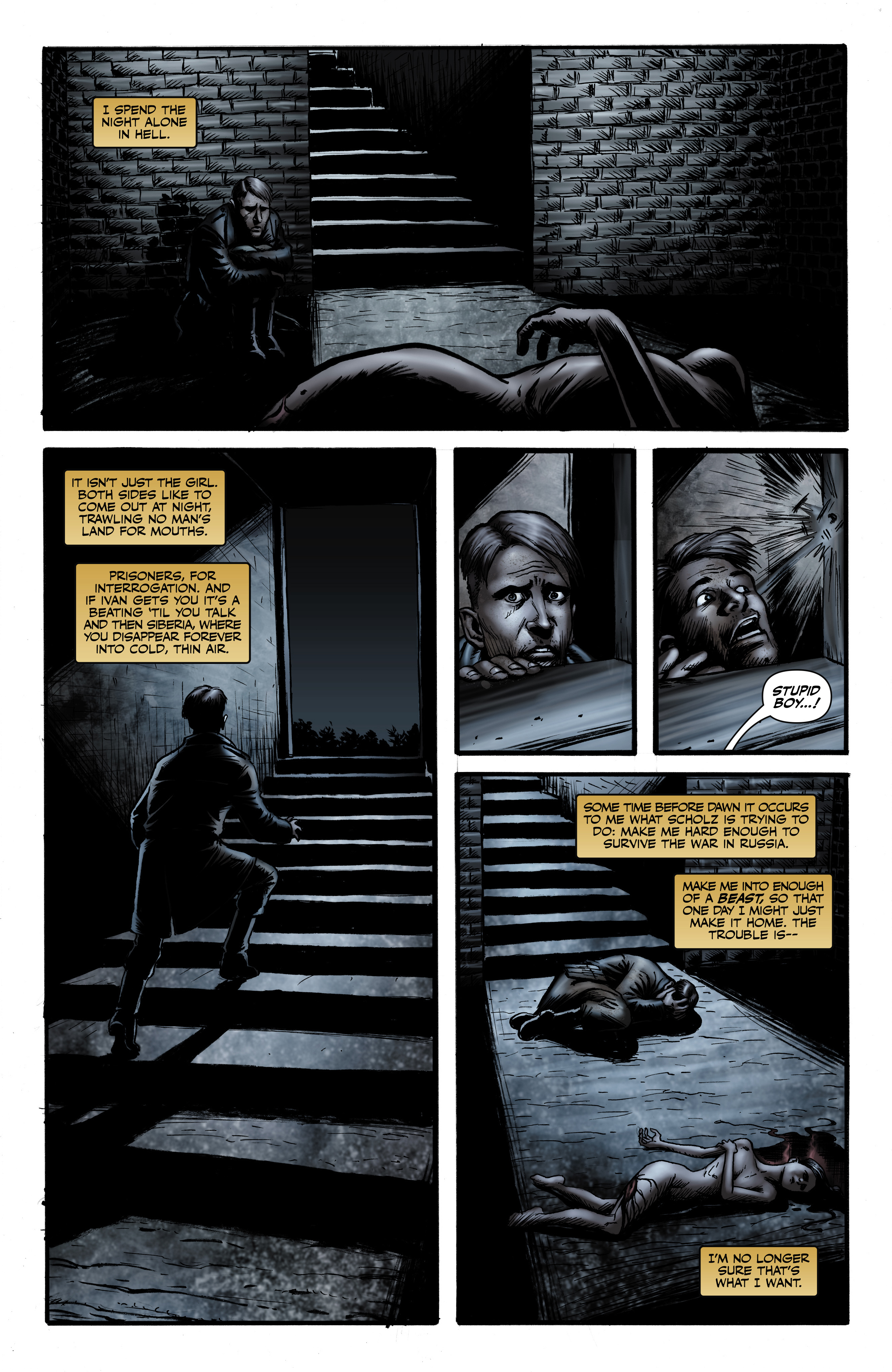 Read online Battlefields: Night Witches comic -  Issue # TPB - 45