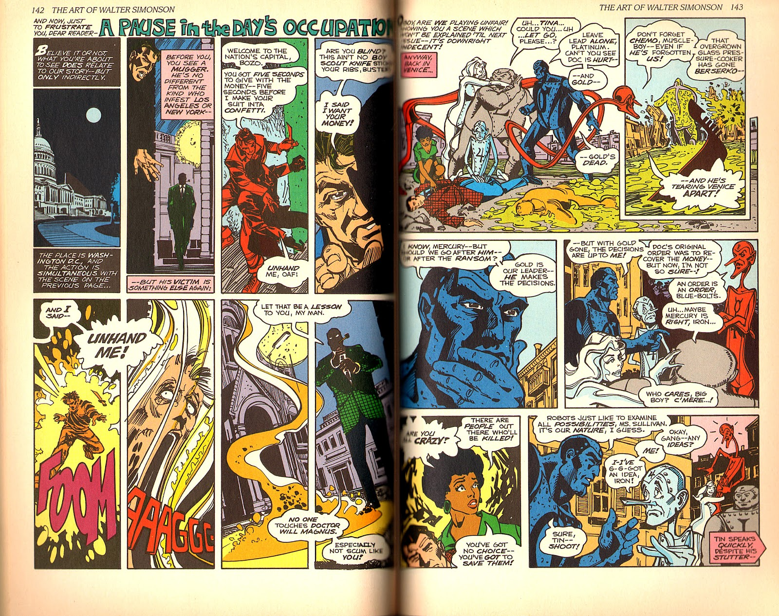 Read online The Art of Walter Simonson comic -  Issue # TPB - 73