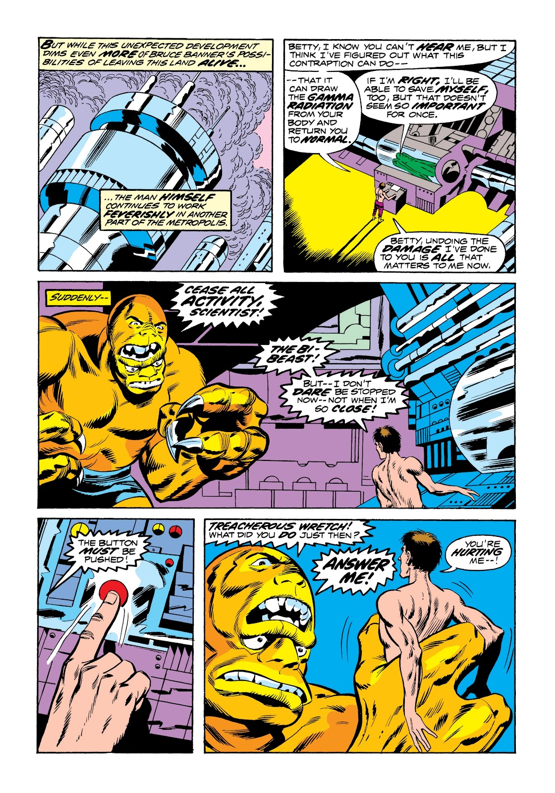 Read online Marvel Masterworks: The Incredible Hulk comic -  Issue # TPB 9 (Part 3) - 71