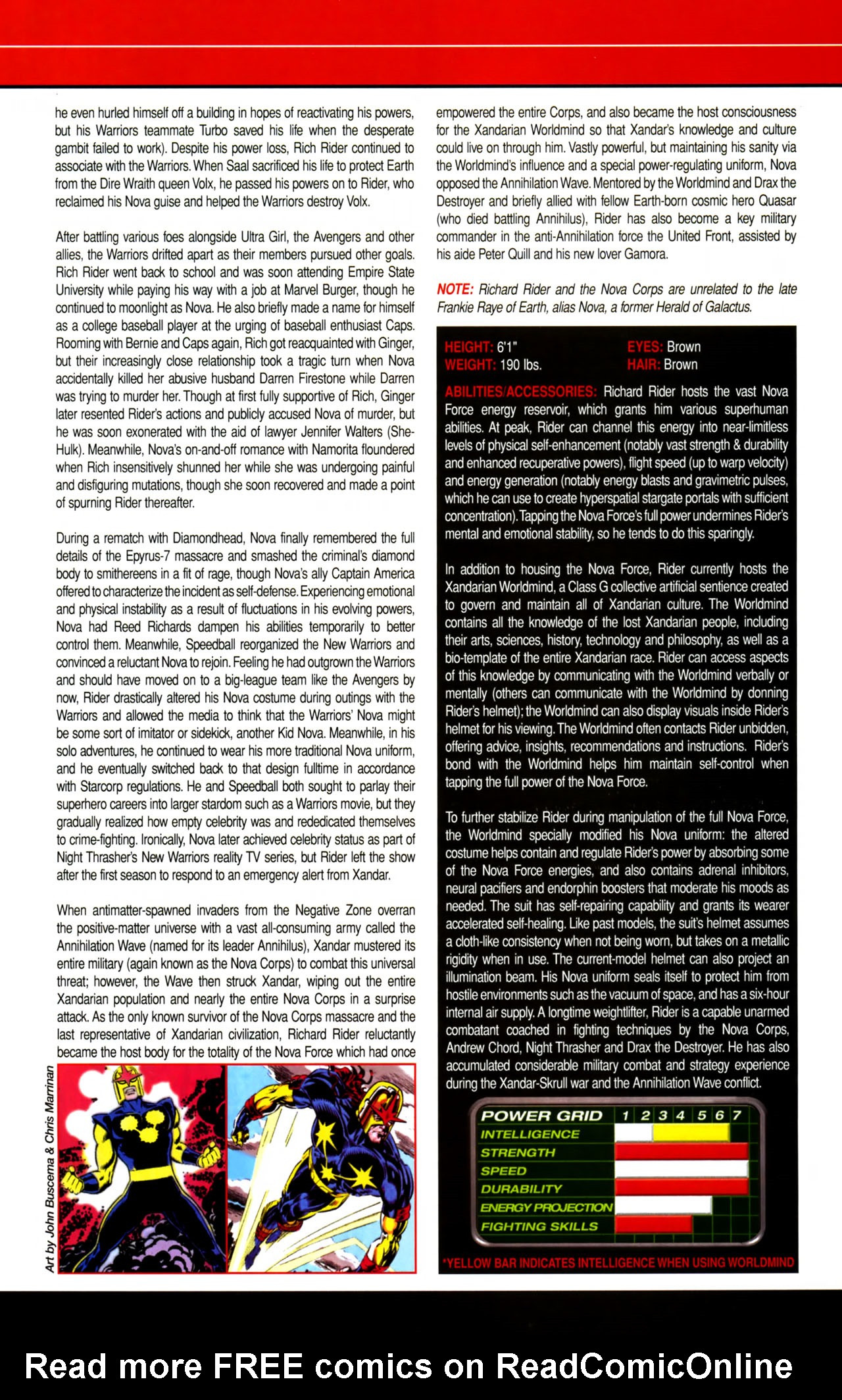 Read online All-New Official Handbook of the Marvel Universe A to Z comic -  Issue #8 - 22