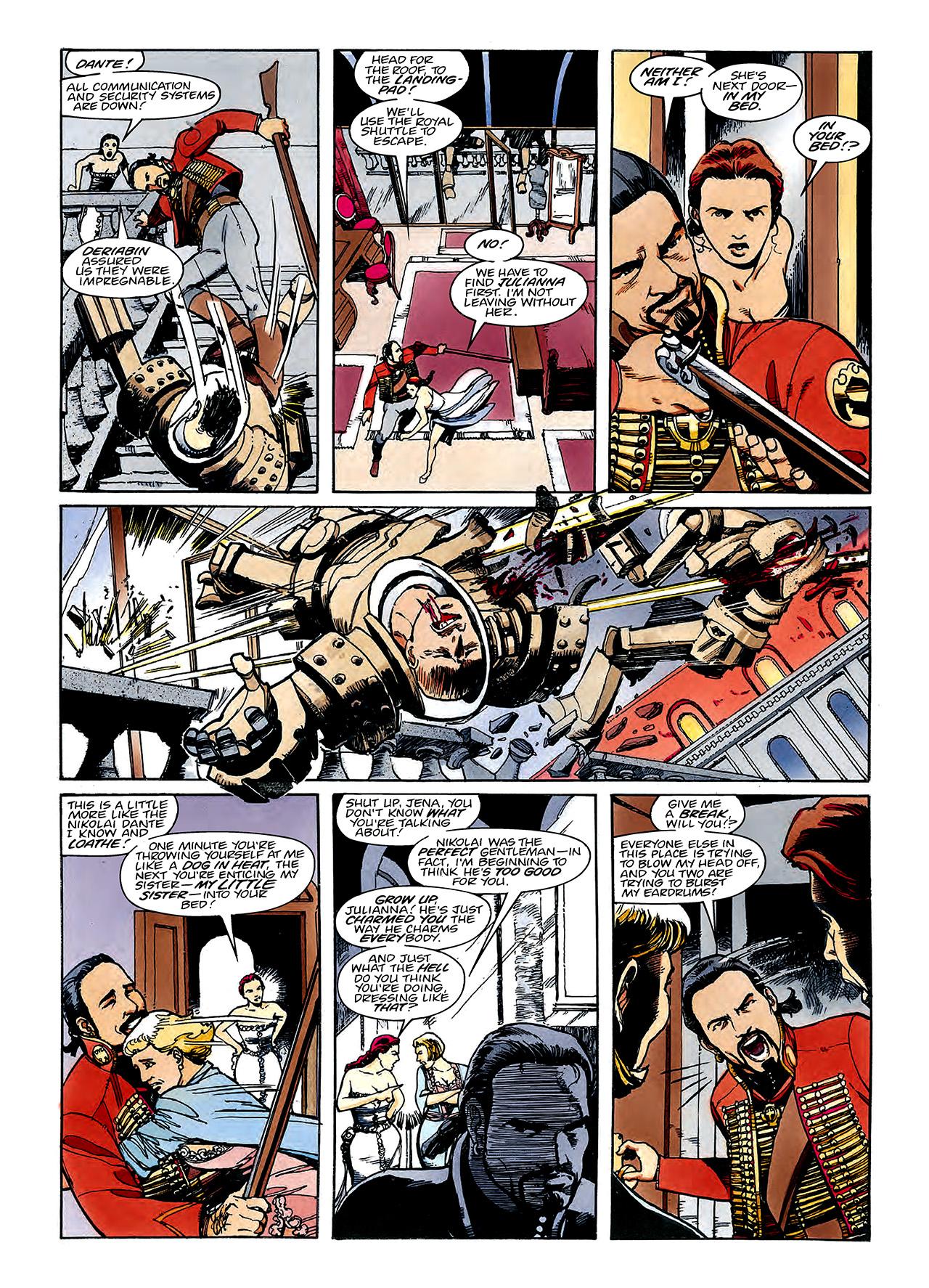 Read online Nikolai Dante comic -  Issue # TPB 3 - 76