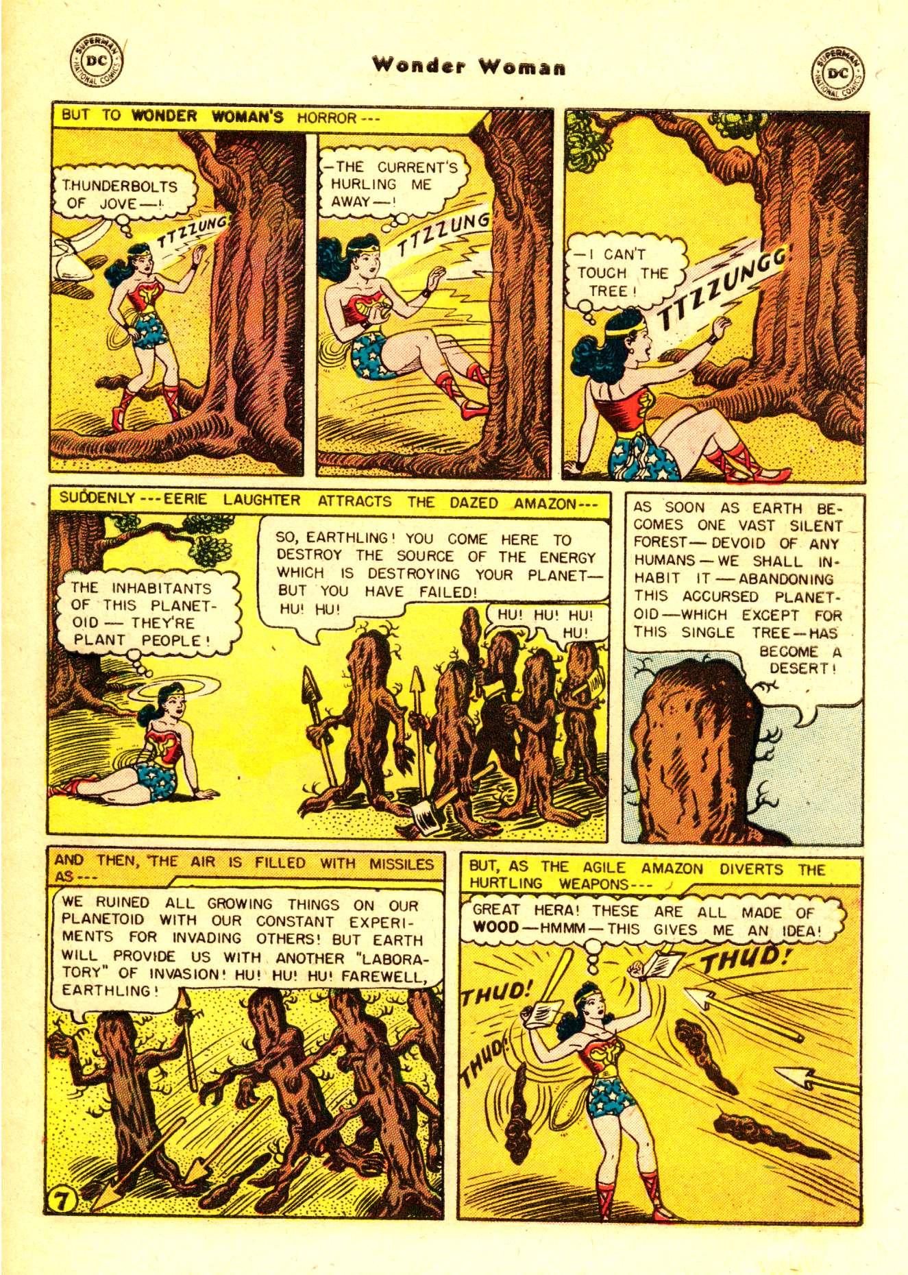 Read online Wonder Woman (1942) comic -  Issue #84 - 32