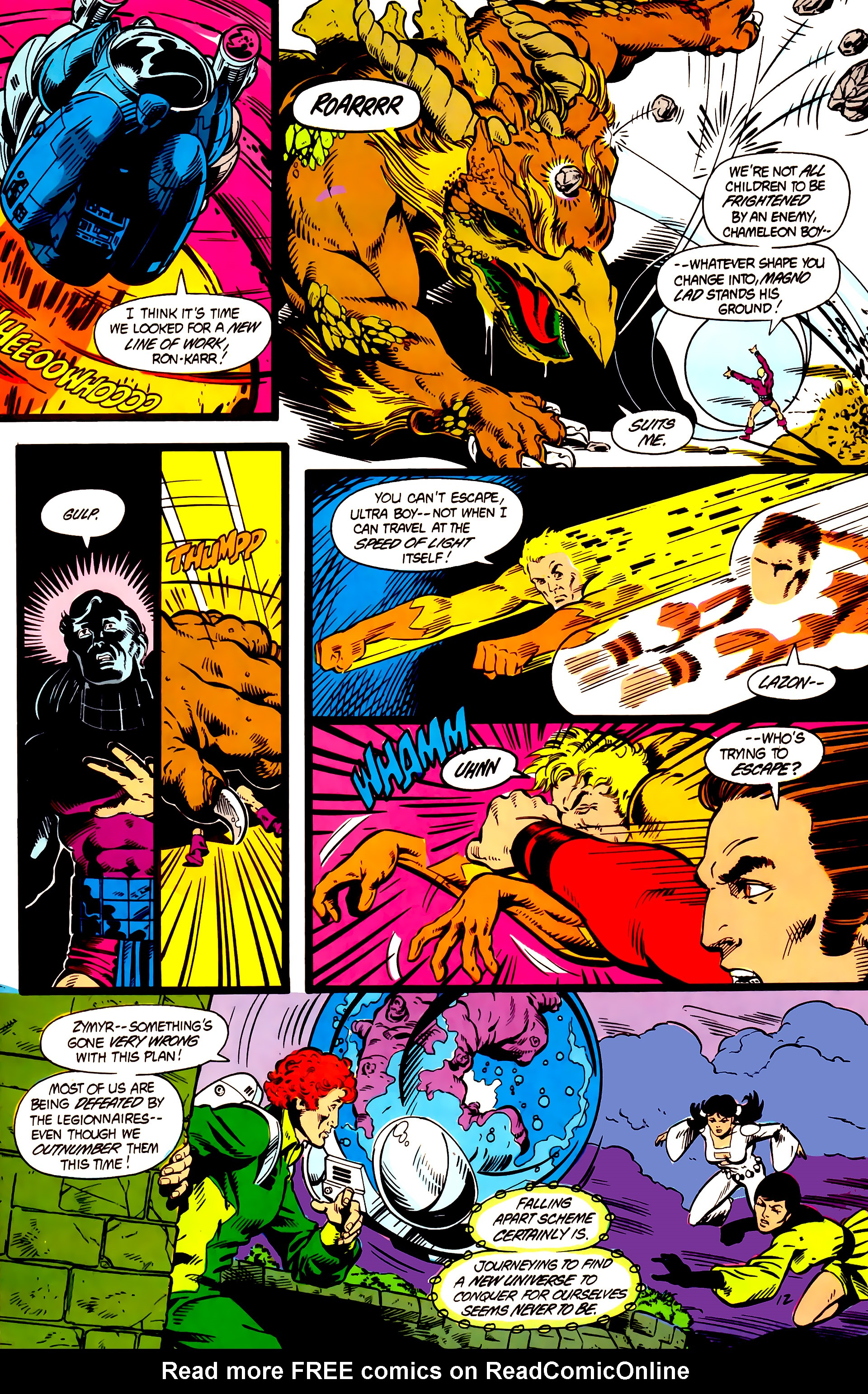 Legion of Super-Heroes (1984) 5 Page 13