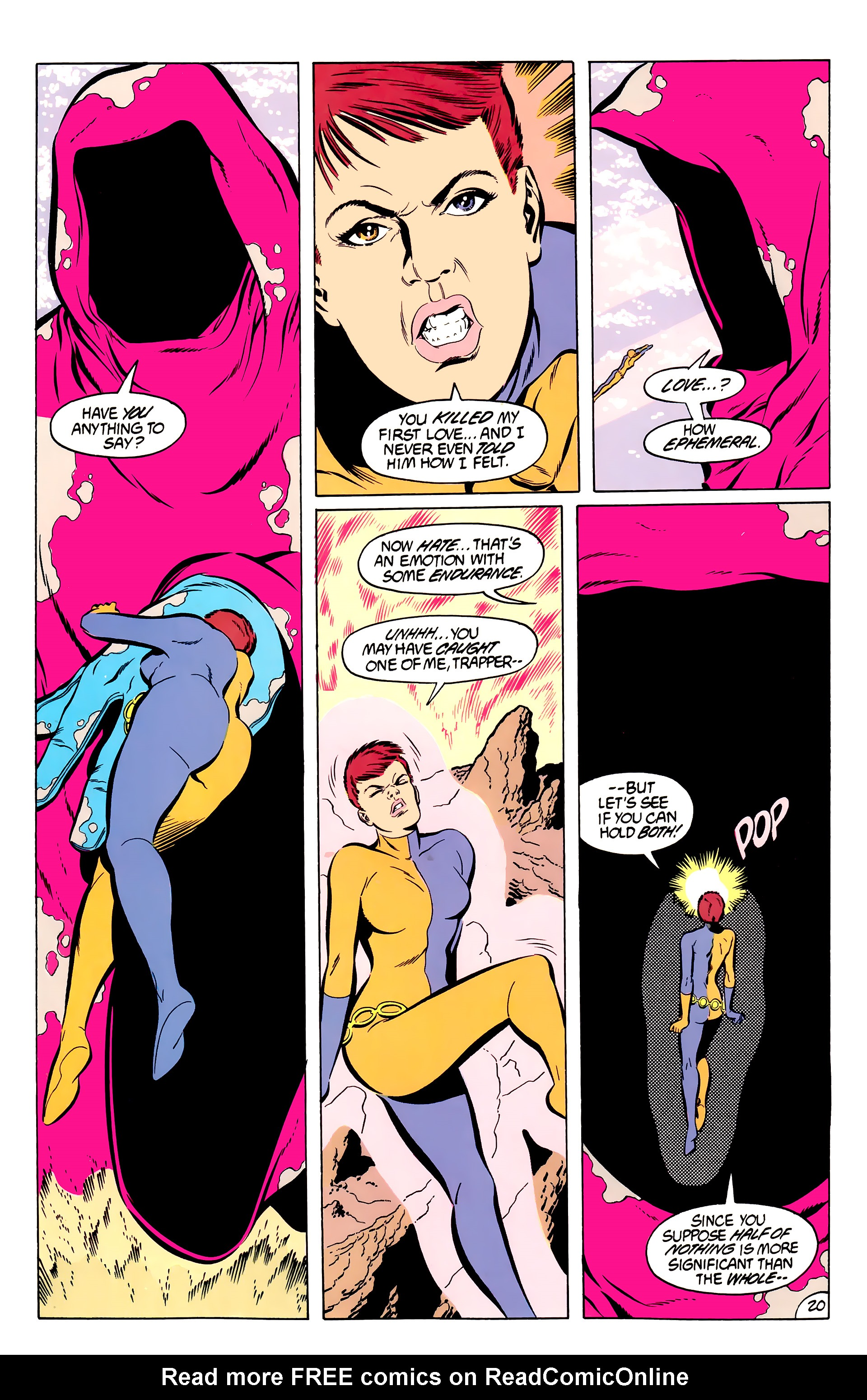 Legion of Super-Heroes (1984) 50 Page 20