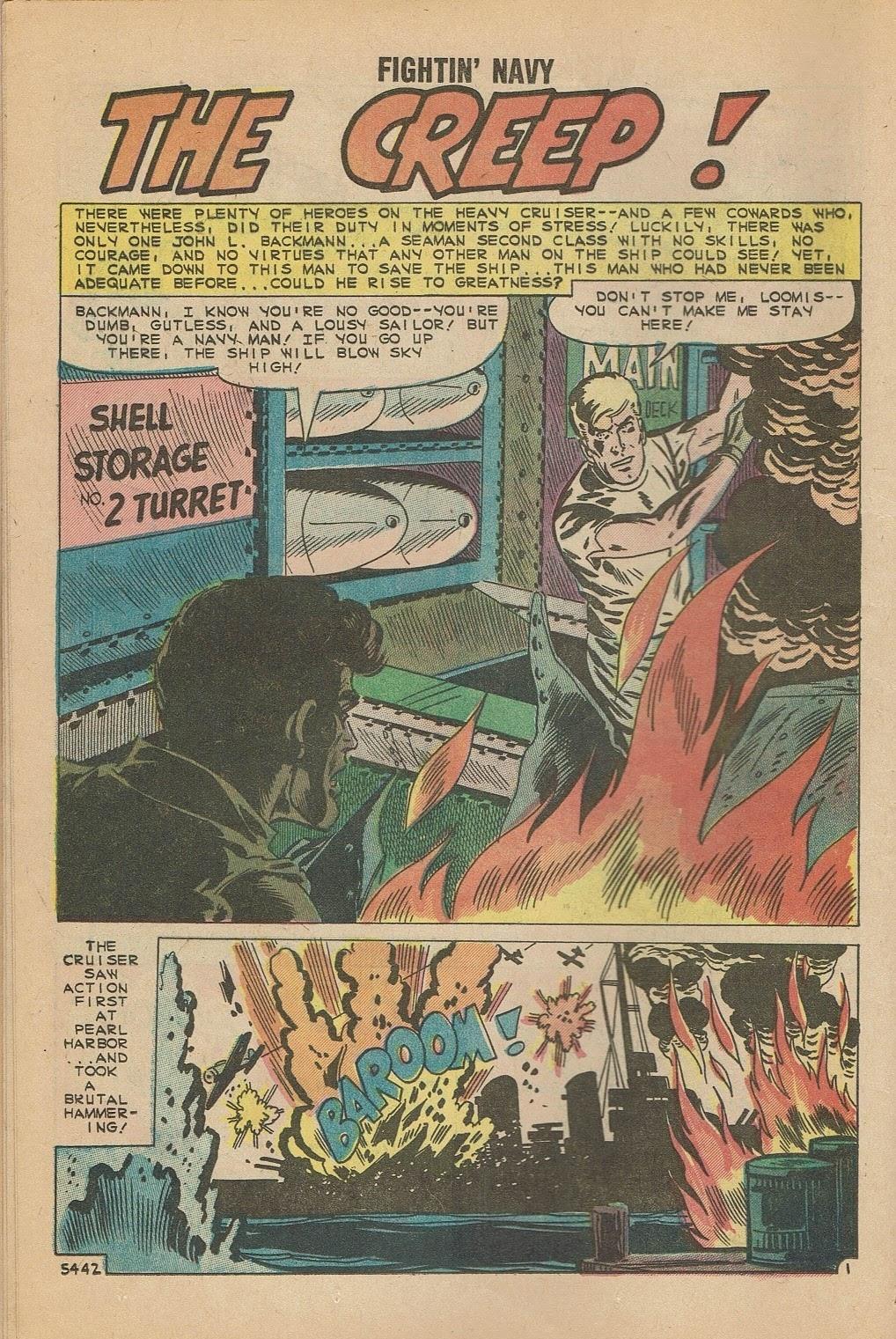 Read online Fightin' Navy comic -  Issue #95 - 12