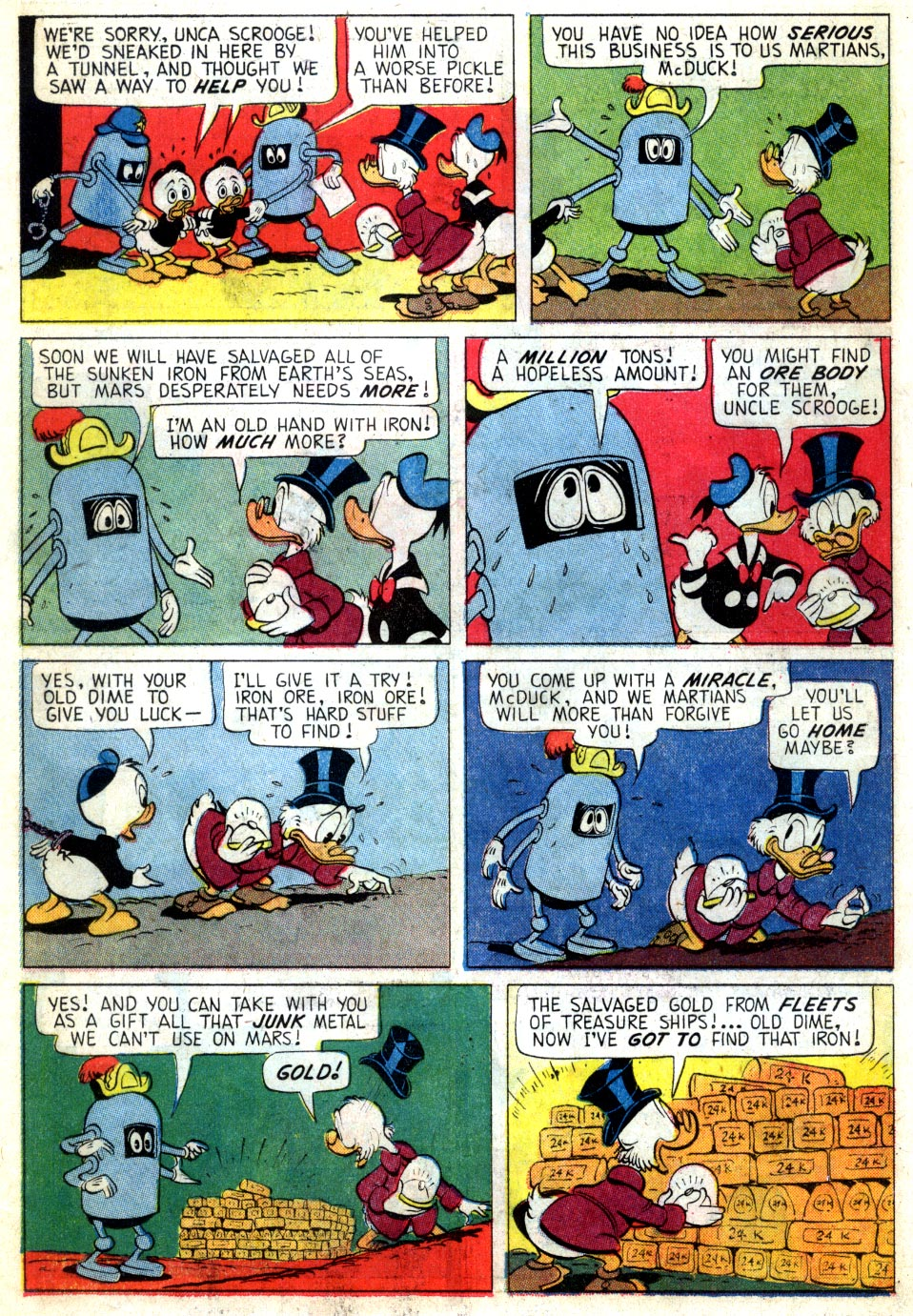Read online Uncle Scrooge (1953) comic -  Issue #46 - 22
