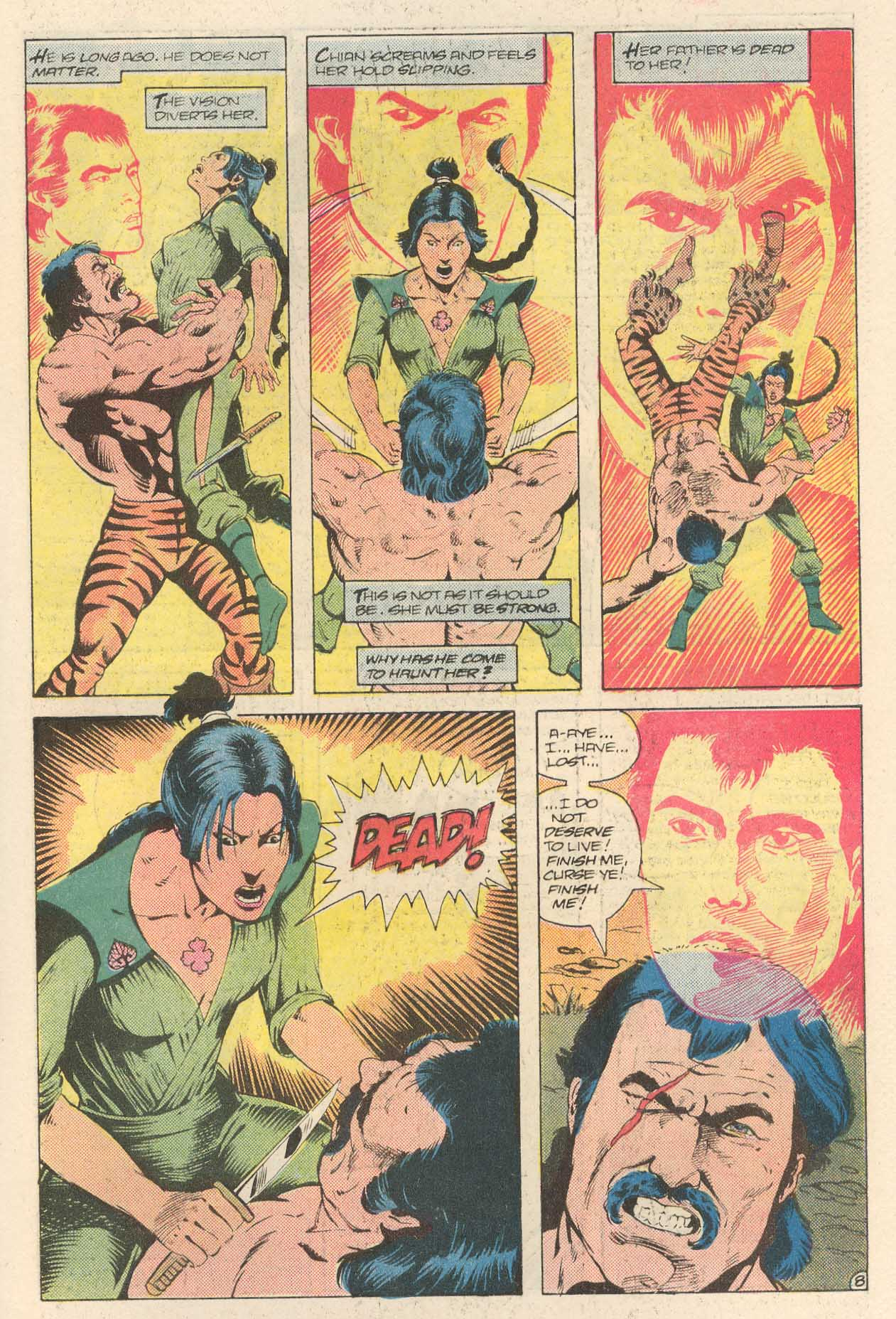 Read online Arion, Lord of Atlantis comic -  Issue #28 - 23