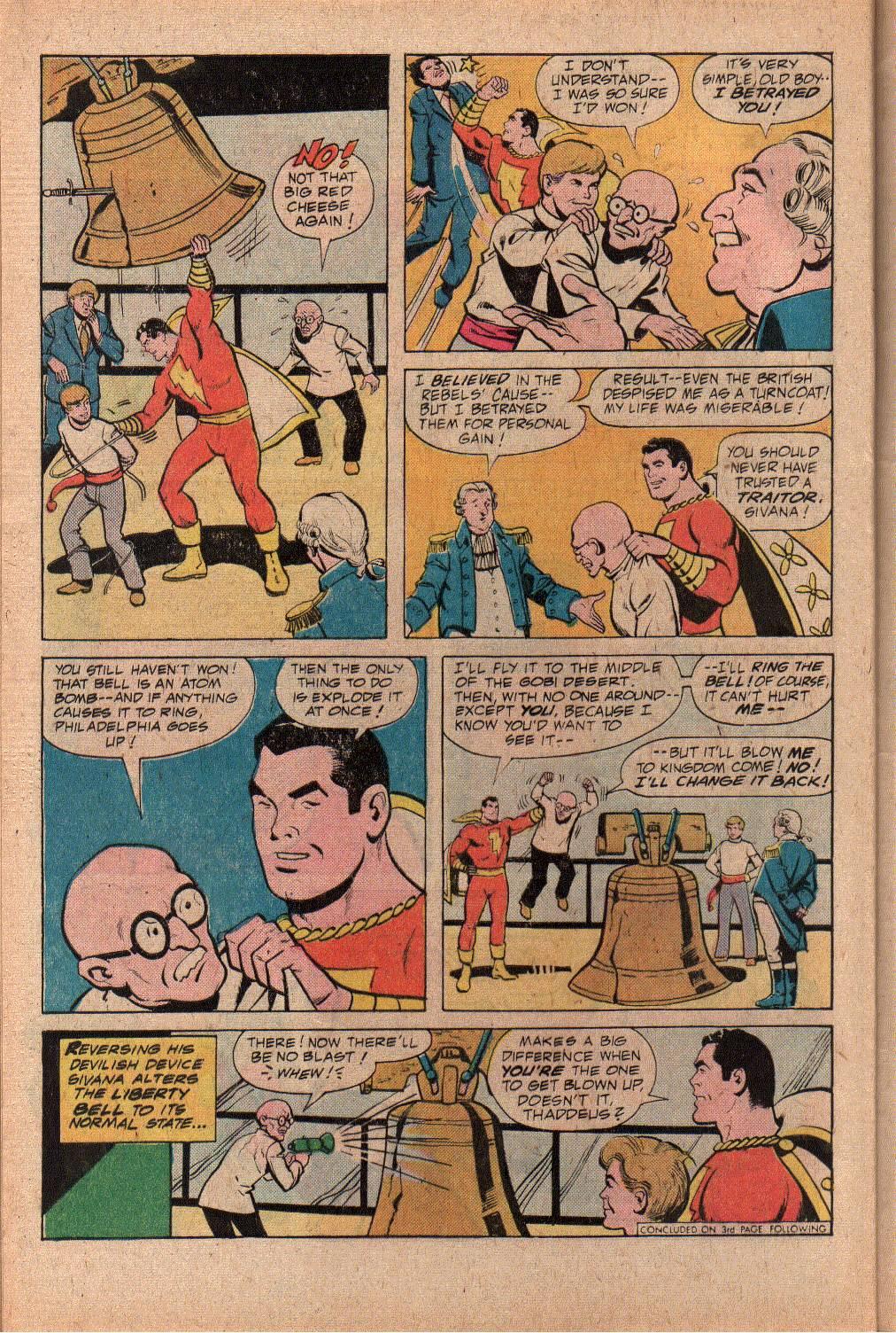Read online Shazam! (1973) comic -  Issue #27 - 28
