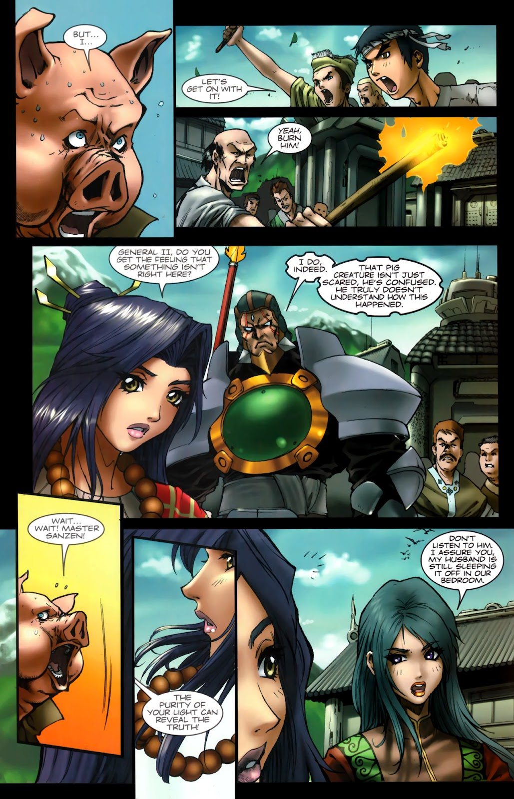 Read online Xin: Journey of the Monkey King comic -  Issue #2 - 15