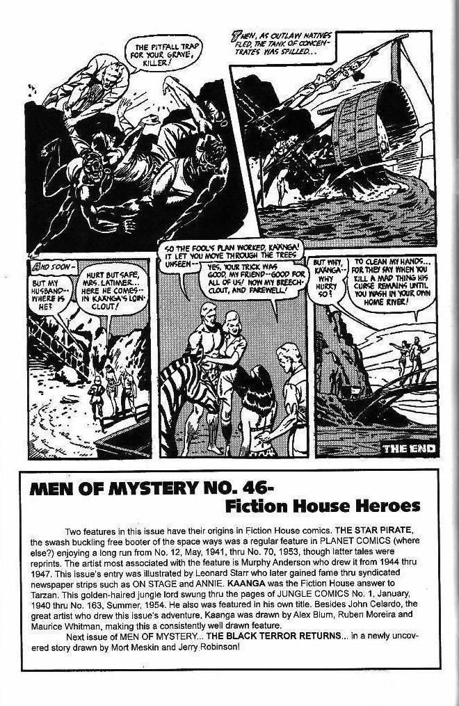 Read online Men of Mystery Comics comic -  Issue #46 - 50