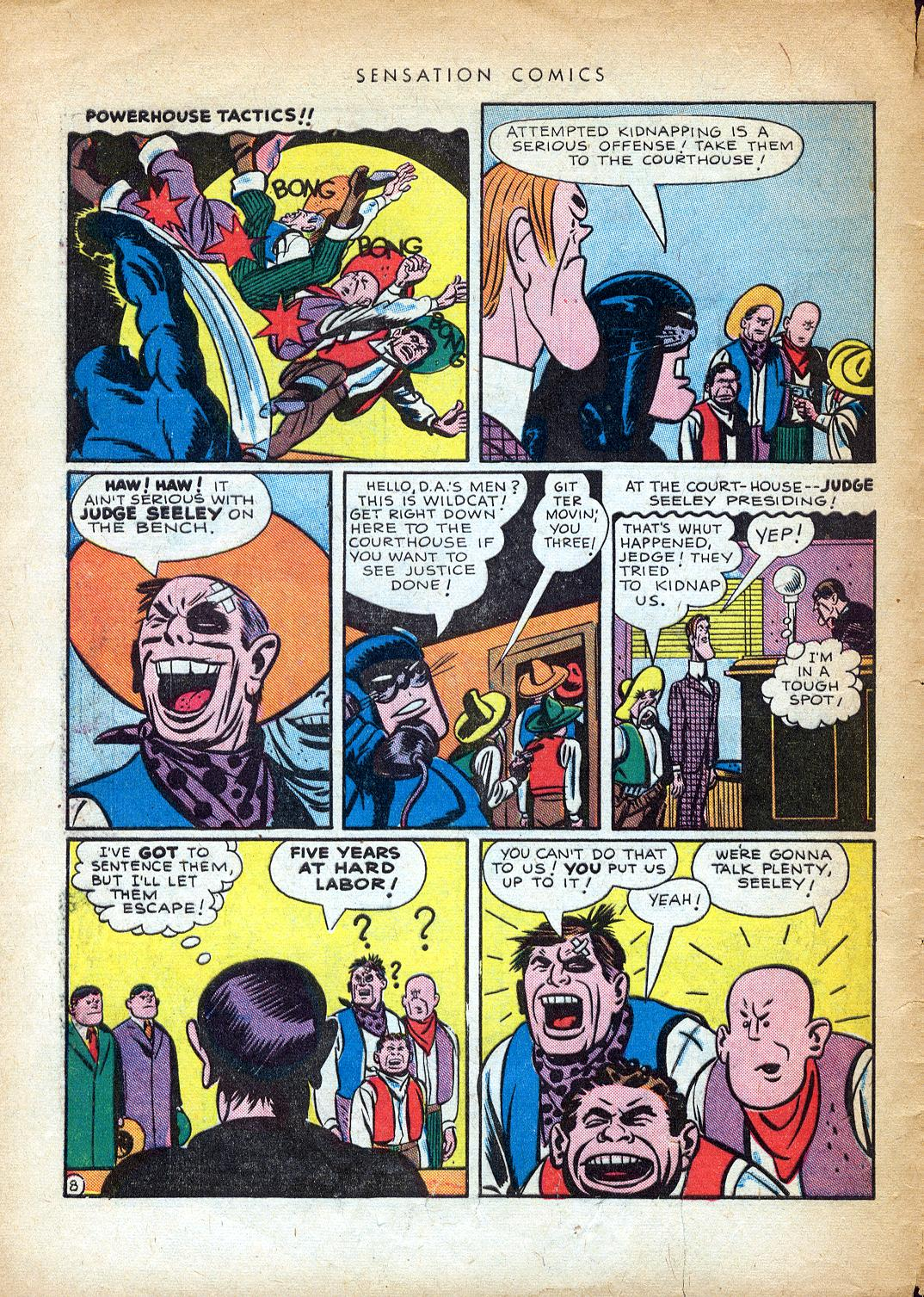 Read online Sensation (Mystery) Comics comic -  Issue #37 - 48